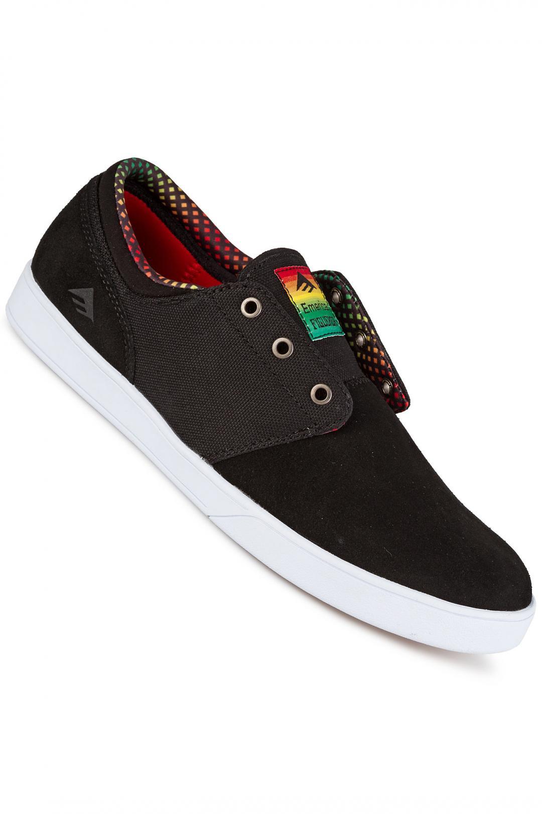 Uomo Emerica The Figueroa black yellow black   Sneaker