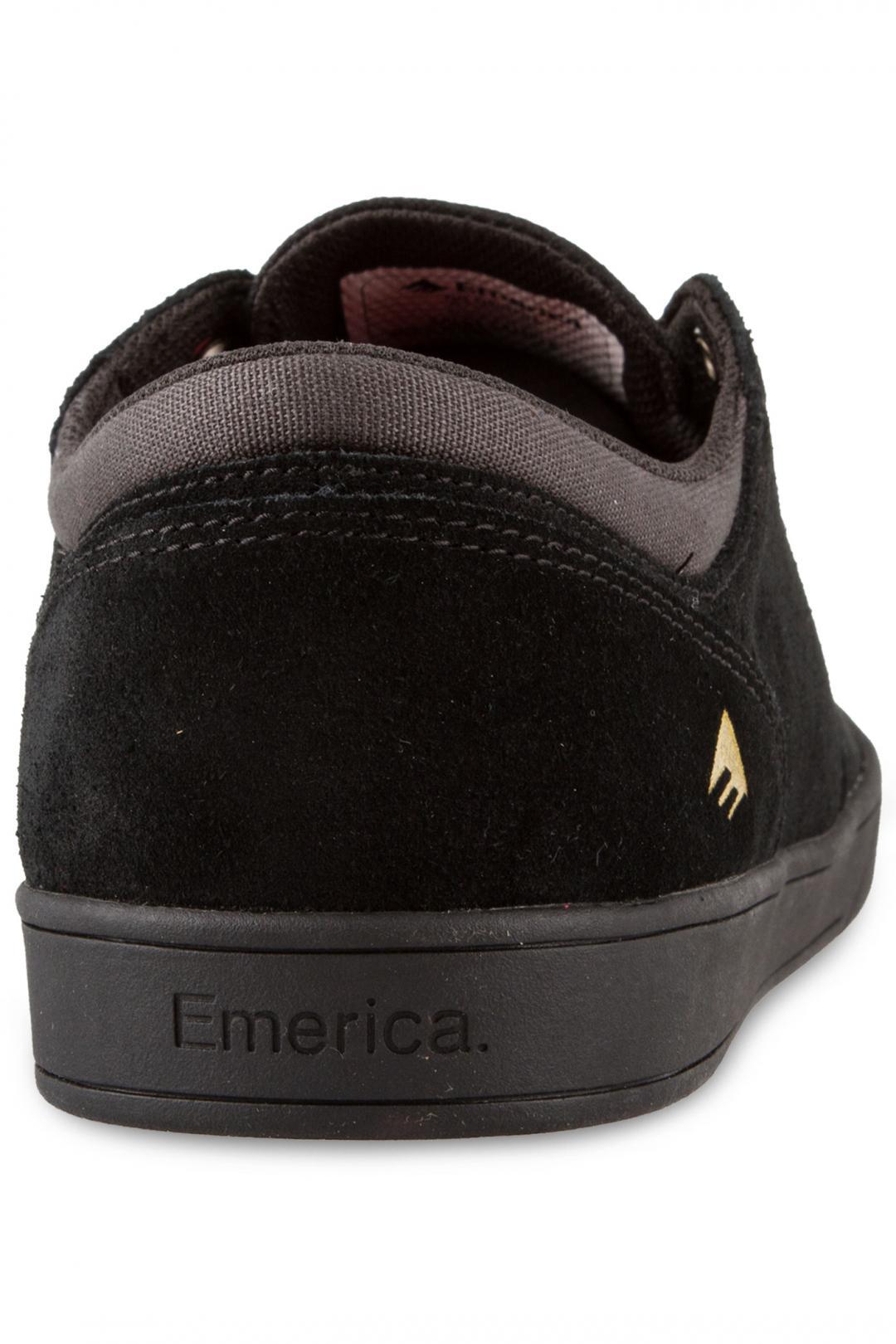 Uomo Emerica The Figueroa Suede black black | Scarpe da skate
