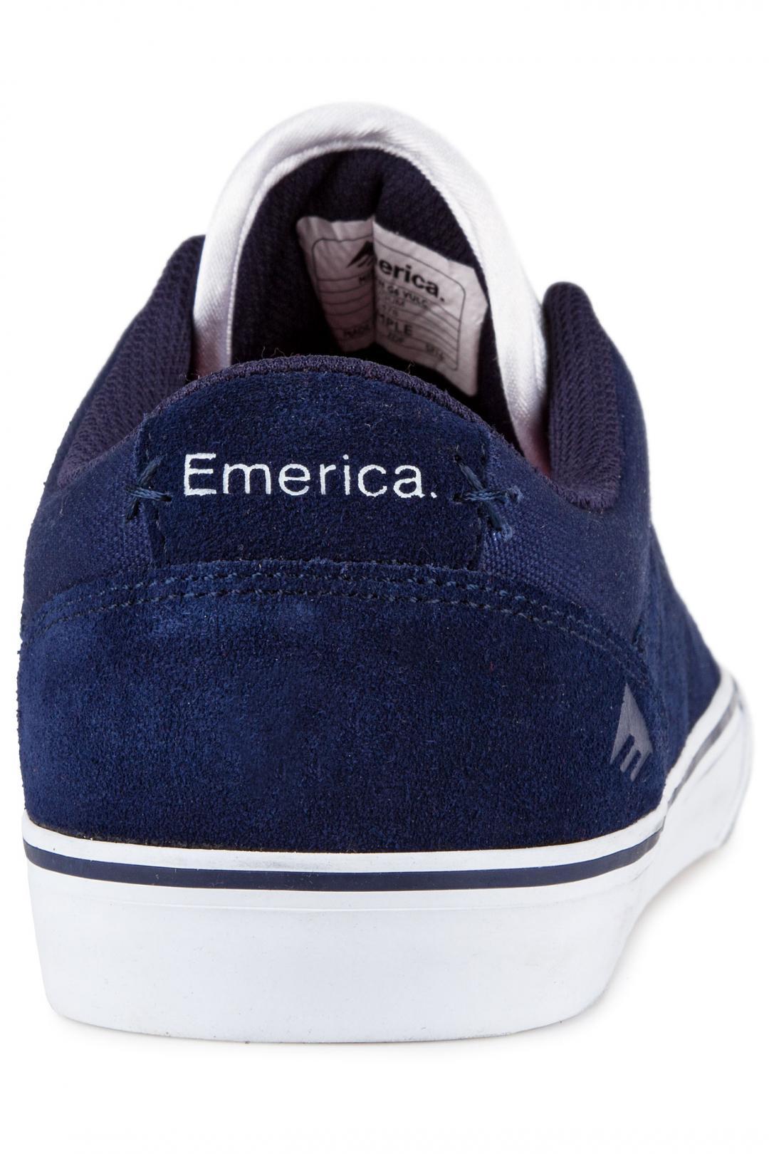 Uomo Emerica The Herman G6 Vulc navy white gum | Sneaker
