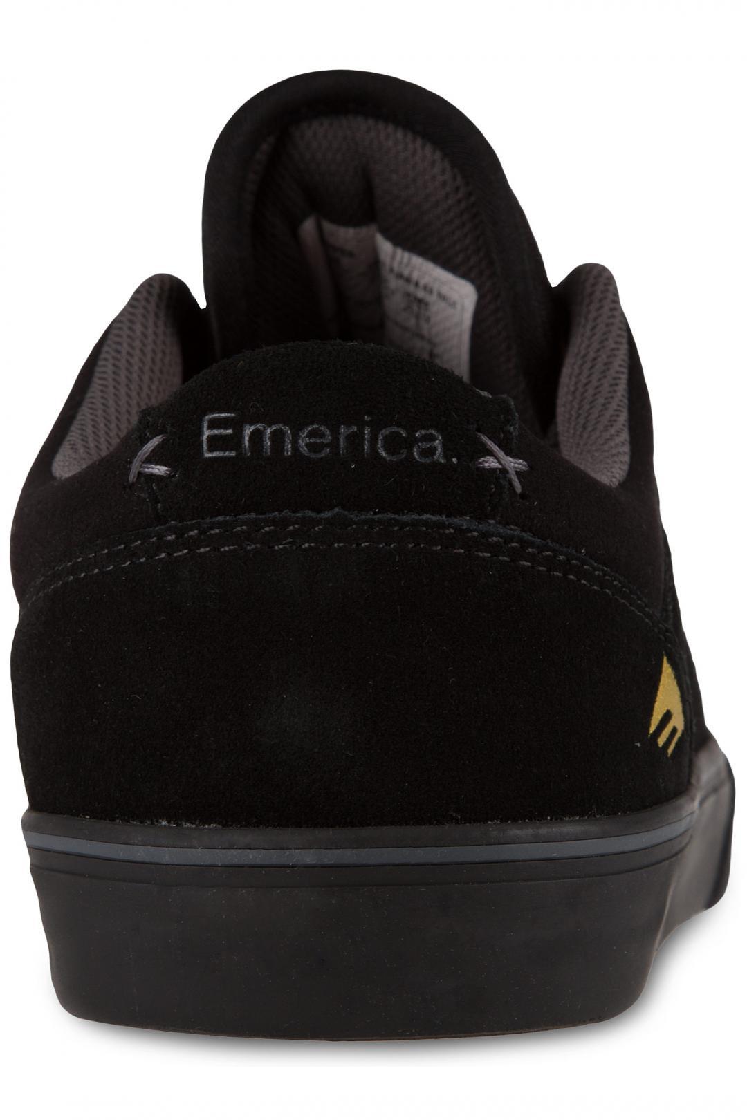 Uomo Emerica The Herman G6 Vulc Suede black black | Sneakers low top
