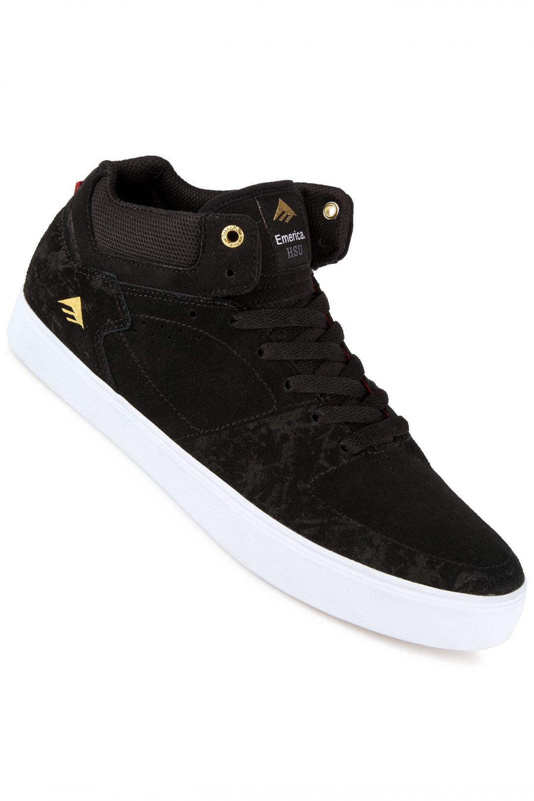 Uomo Emerica The HSU G6 black white | Scarpe da skate