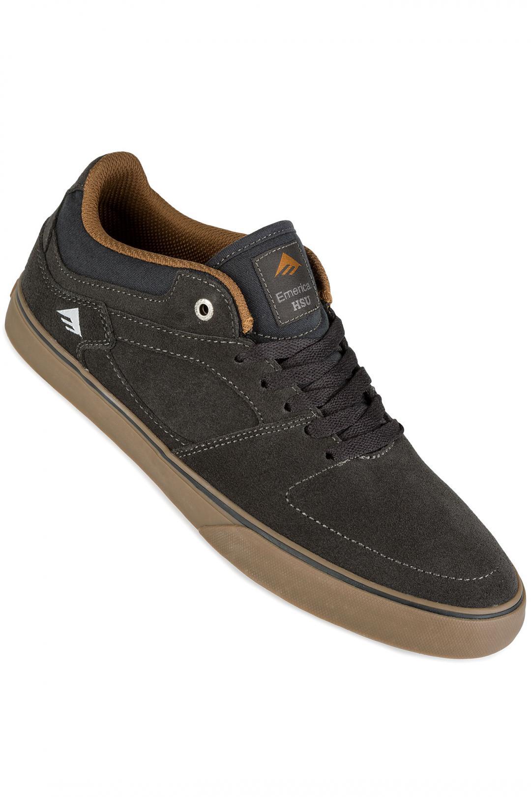 Uomo Emerica The HSU Low Vulc dark grey   Sneaker