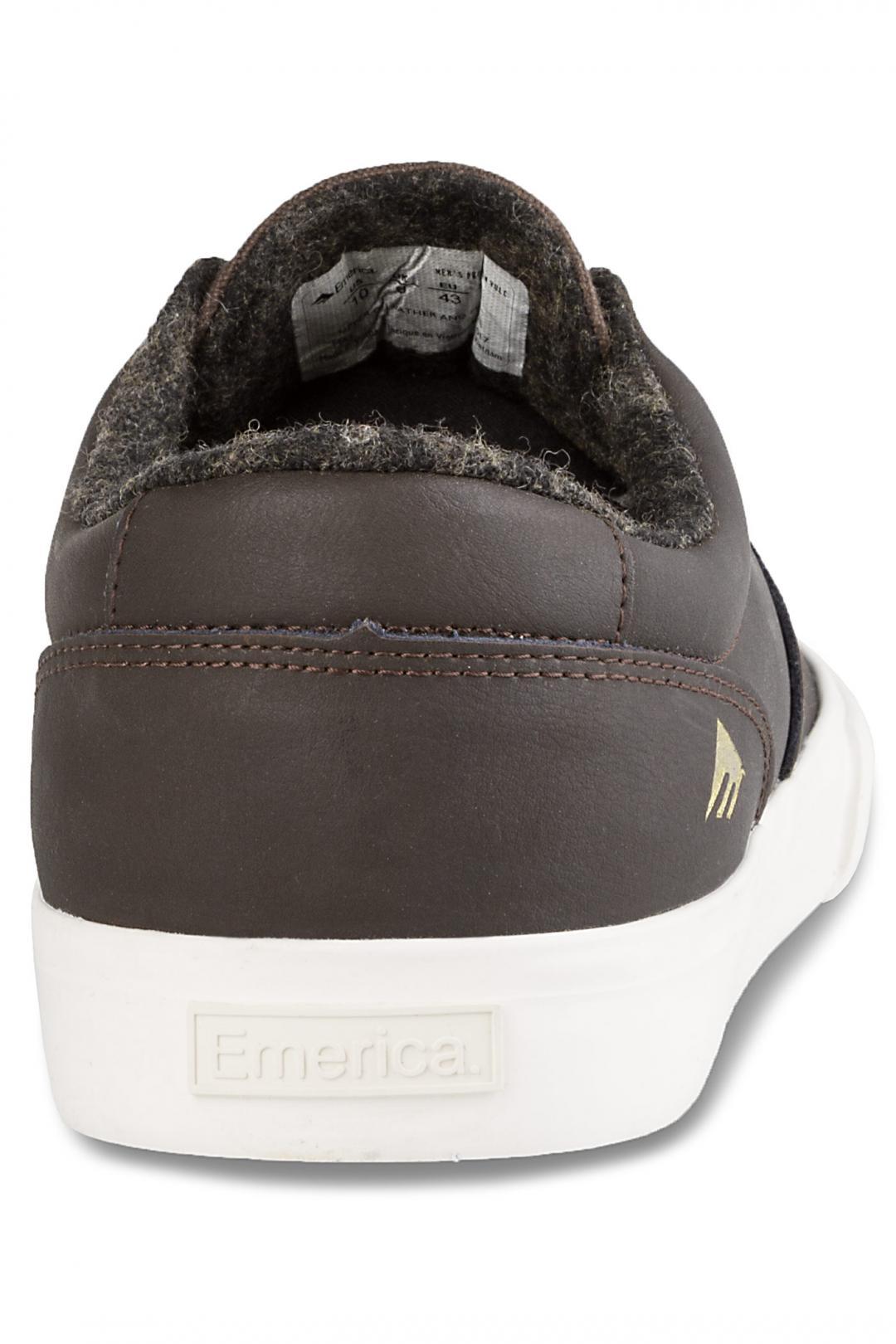 Uomo Emerica The Provost Slim Vulc brown | Sneaker