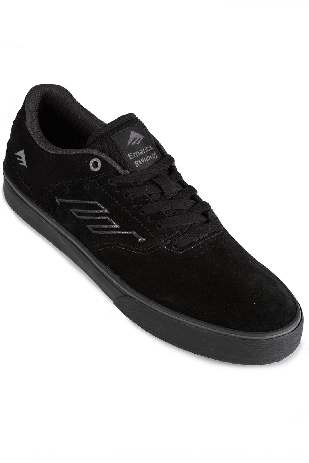 Uomo Emerica The Reynolds Low Vulc black black grey | Scarpe da skate
