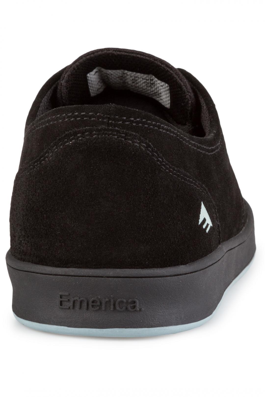 Uomo Emerica The Romero Laced black black blue | Sneakers low top