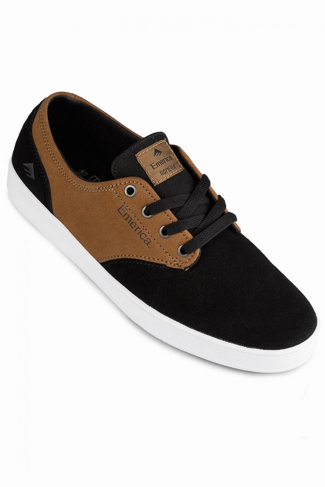 Uomo Emerica The Romero Laced black brown   Sneakers low top