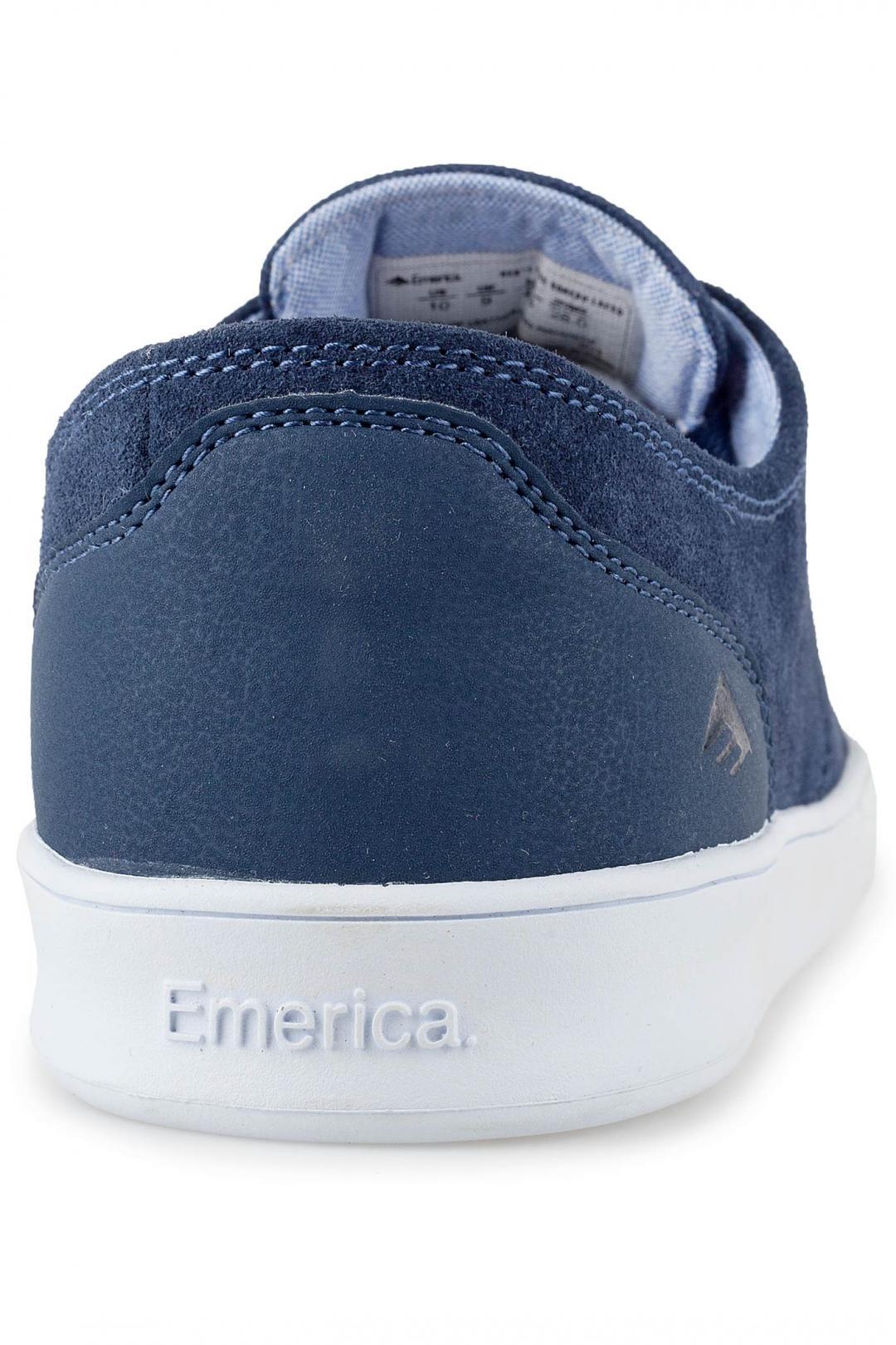 Uomo Emerica The Romero Laced blue white blue   Sneaker