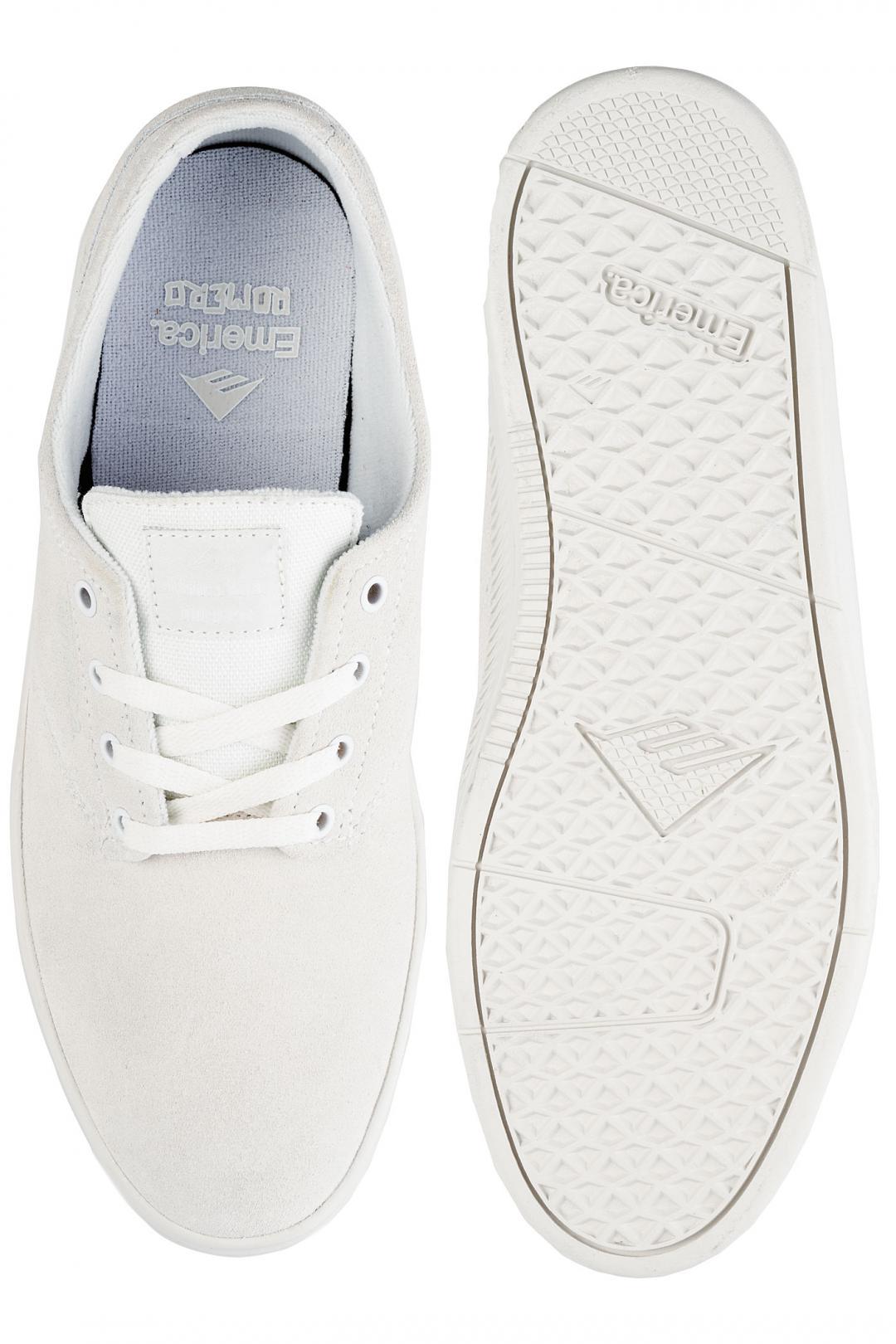 Uomo Emerica The Romero Laced white white white   Sneakers low top