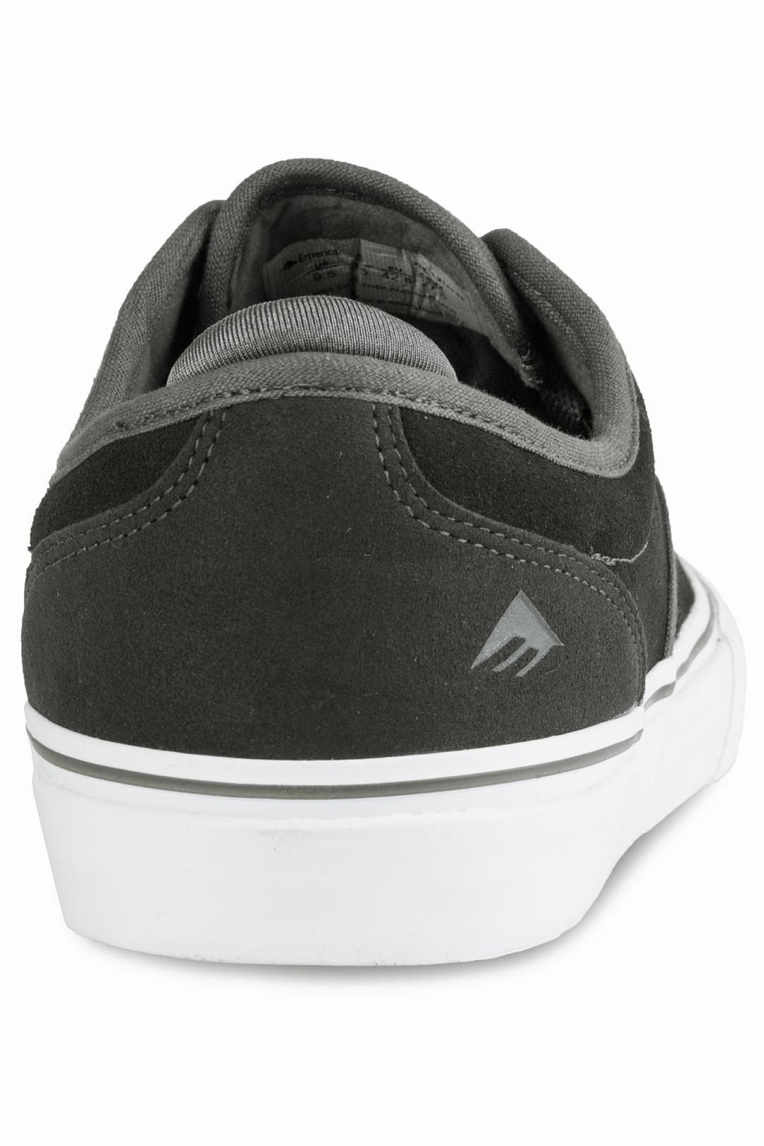 Uomo Emerica Wino G6 dark grey white | Sneaker