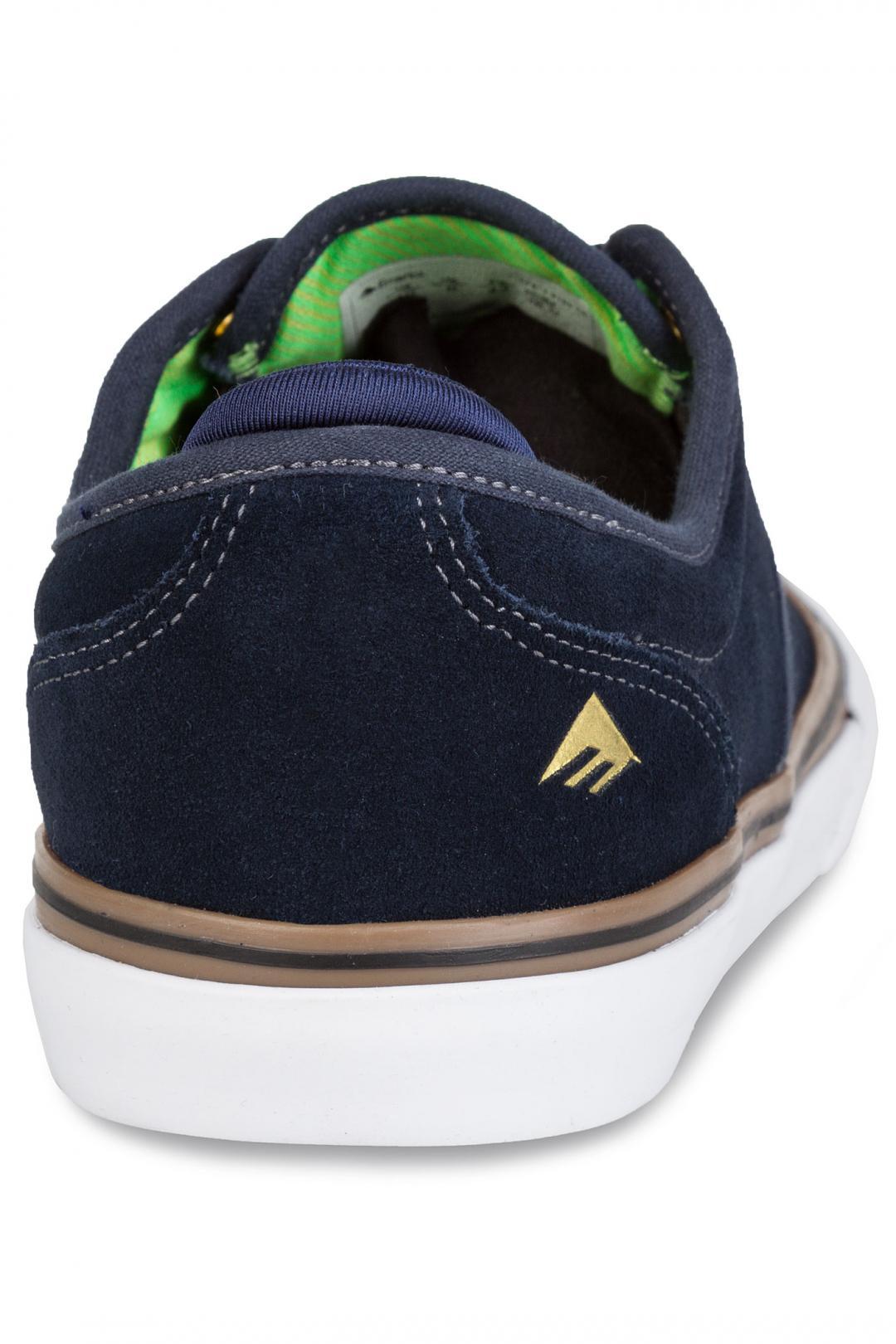 Uomo Emerica Wino G6 navy gum white   Sneakers low top