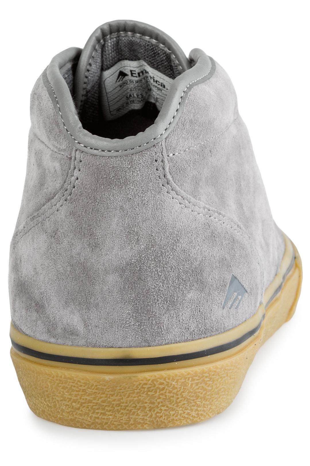Uomo Emerica x Pendleton Wino G6 Mid grey gum   Sneakers mid top