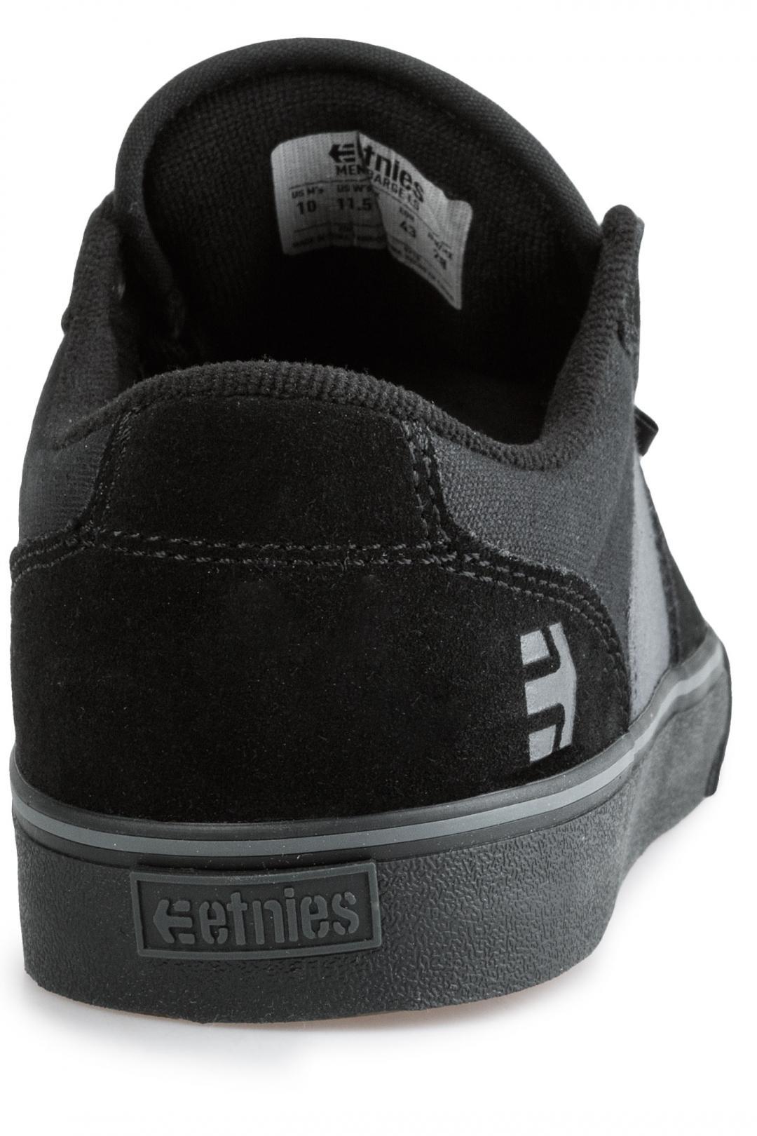 Uomo Etnies Barge LS black grey black | Sneaker
