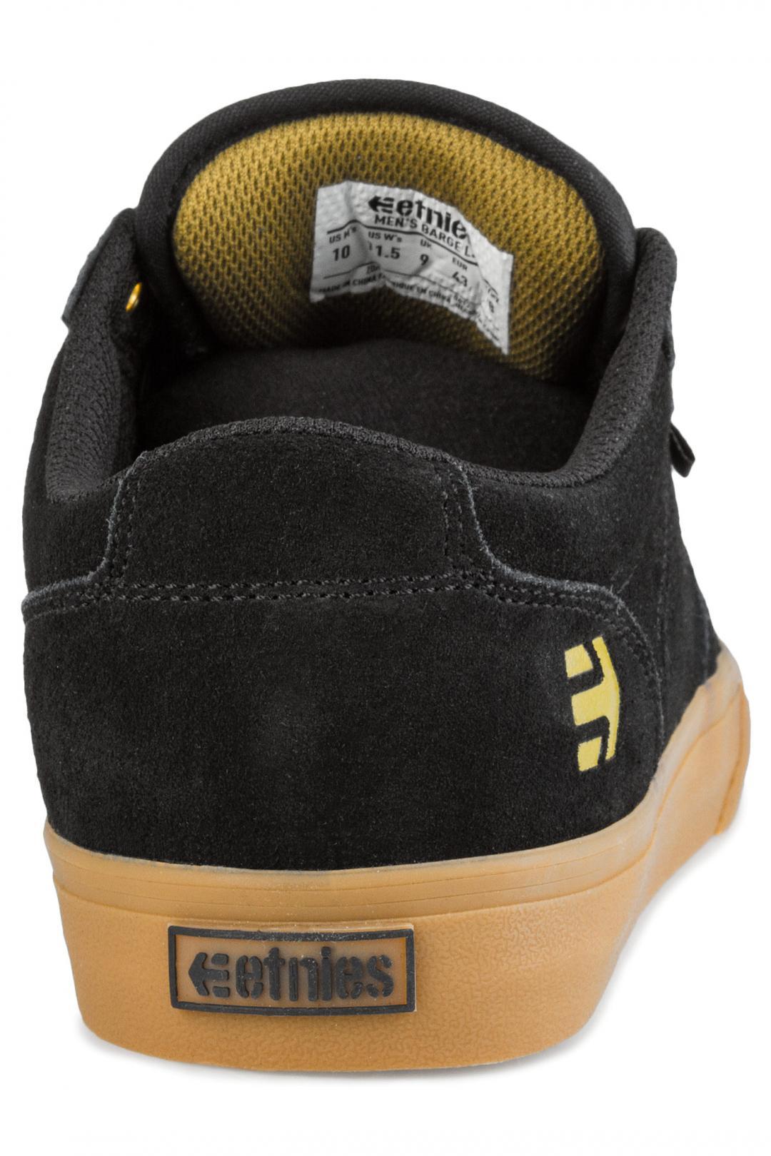 Uomo Etnies Barge LS black gum   Sneaker