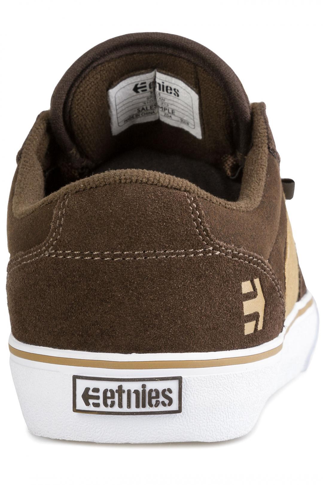 Uomo Etnies Barge LS brown tan | Sneakers low top
