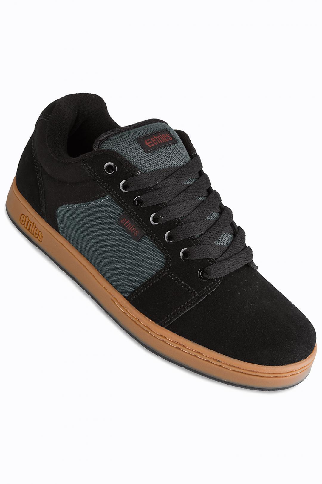Uomo Etnies Barge XL black dark grey gum | Scarpe da skate