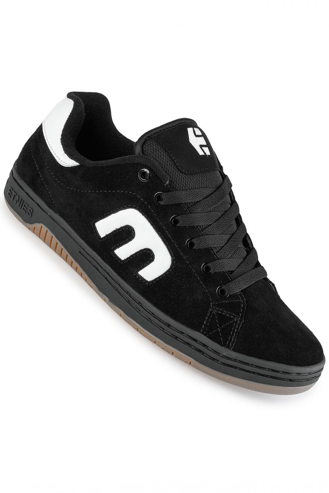 Uomo Etnies Calli-Cut black white black | Sneakers low top
