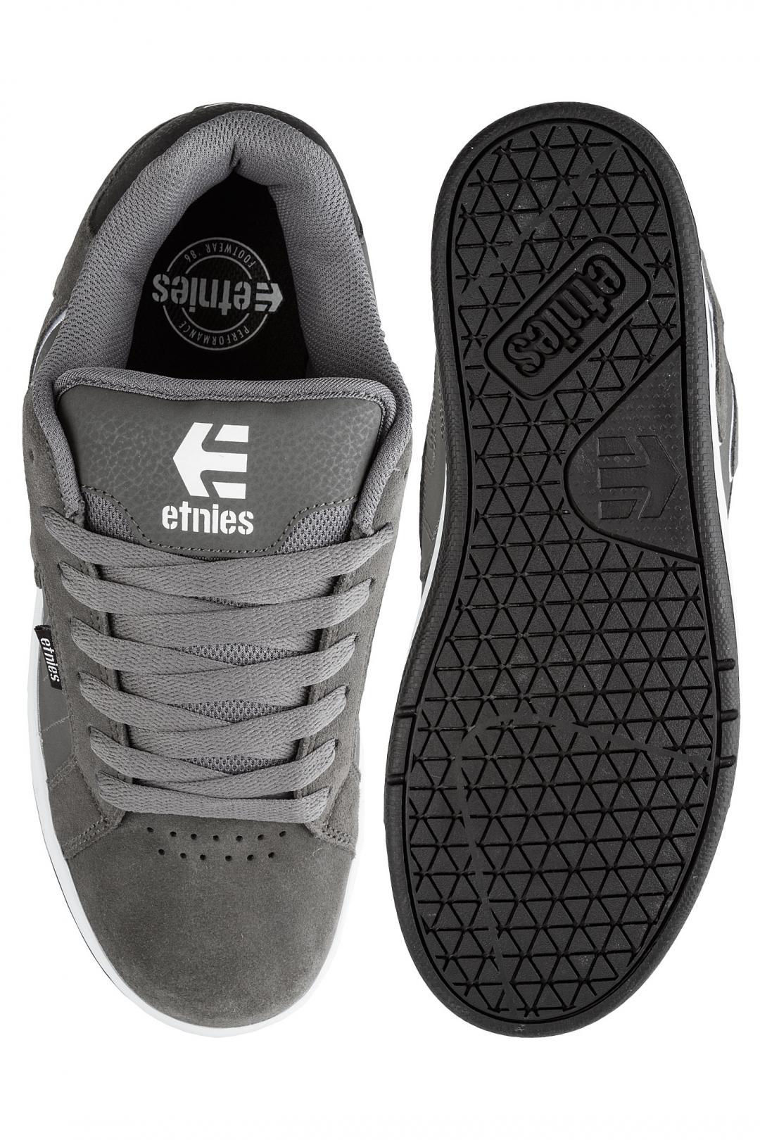 Uomo Etnies Fader 2 dark grey black white | Sneaker