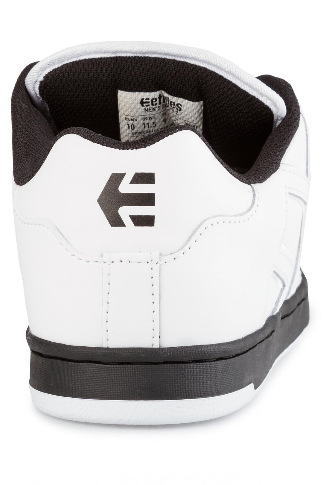 Uomo Etnies Fader 2 white black | Sneakers low top