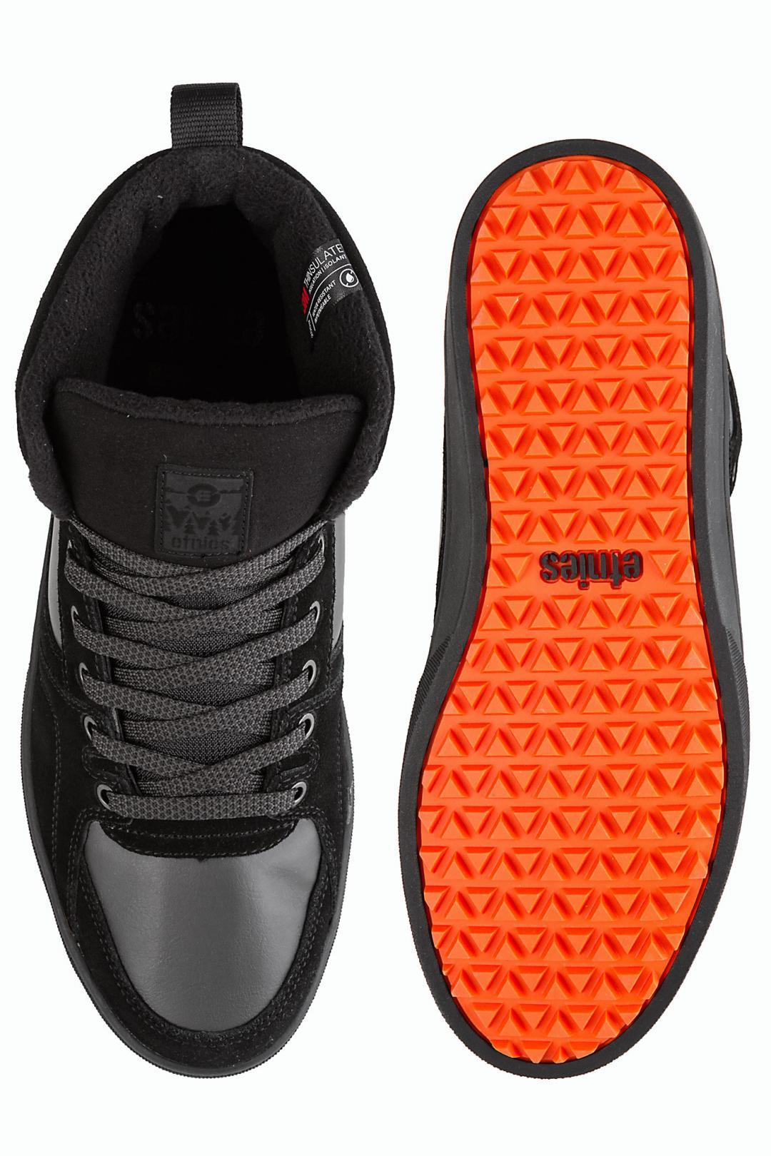 Uomo Etnies Harrison HTW black dark grey gum   Sneakers high top