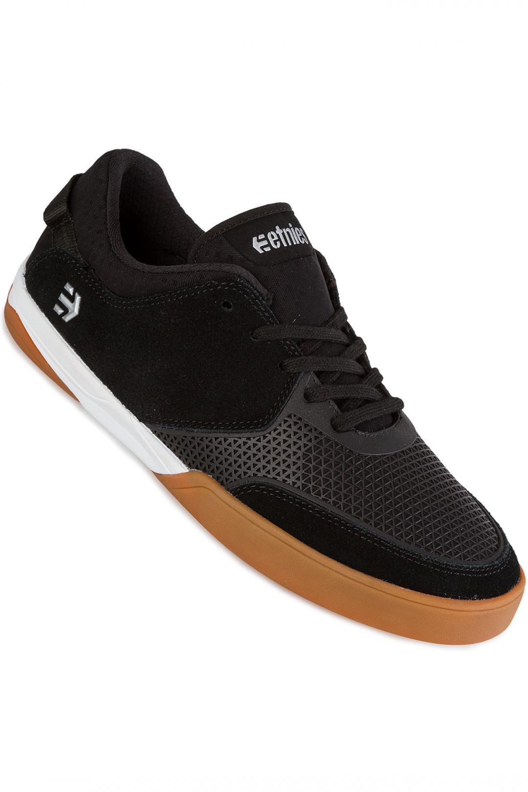 Uomo Etnies Helix black white gum   Scarpe da skate