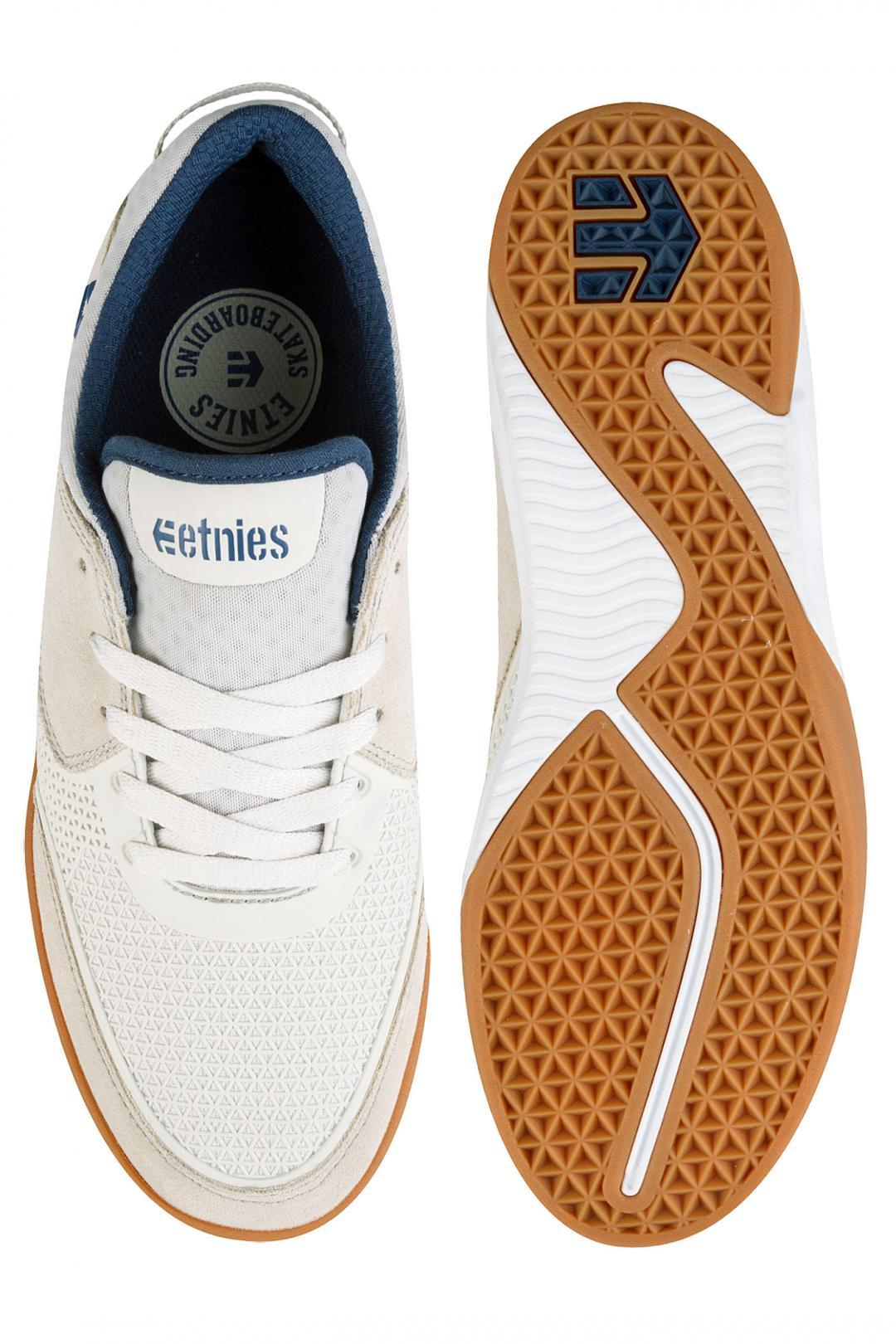Uomo Etnies Helix white navy gum | Sneaker