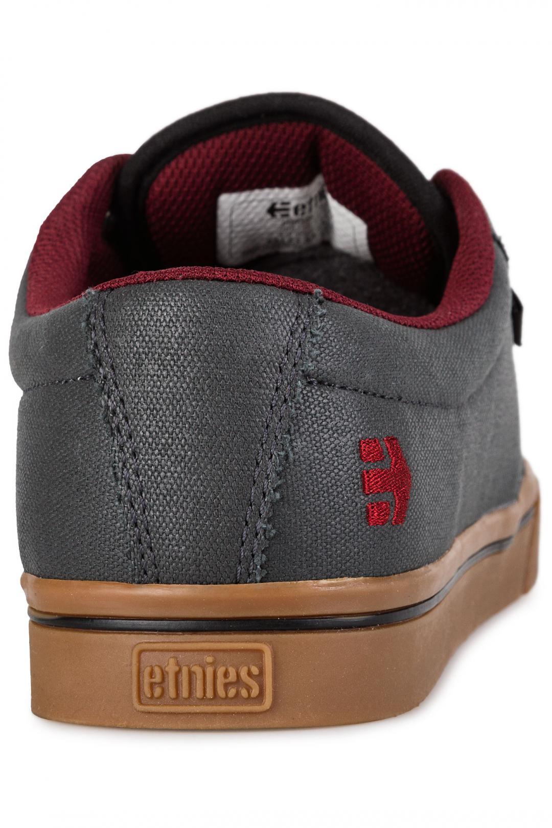 Uomo Etnies Jameson 2 Eco grey gum red   Sneaker