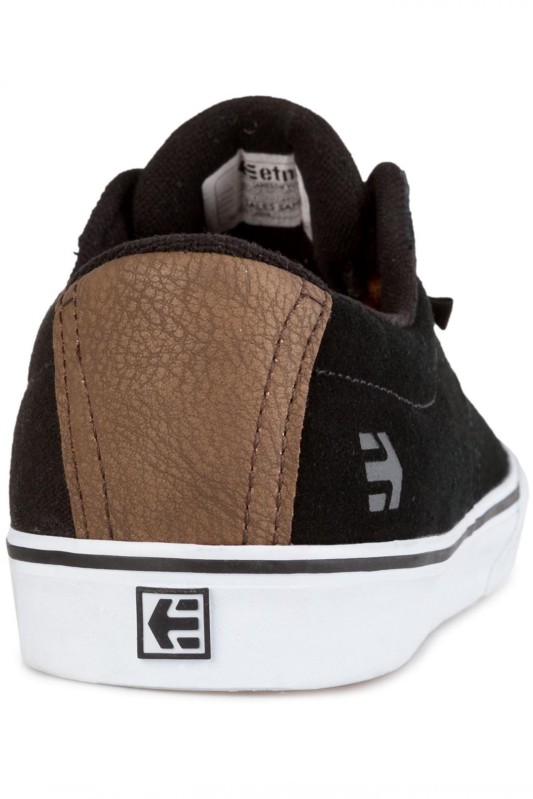 Uomo Etnies Jameson Vulc black brown grey   Scarpe da skate