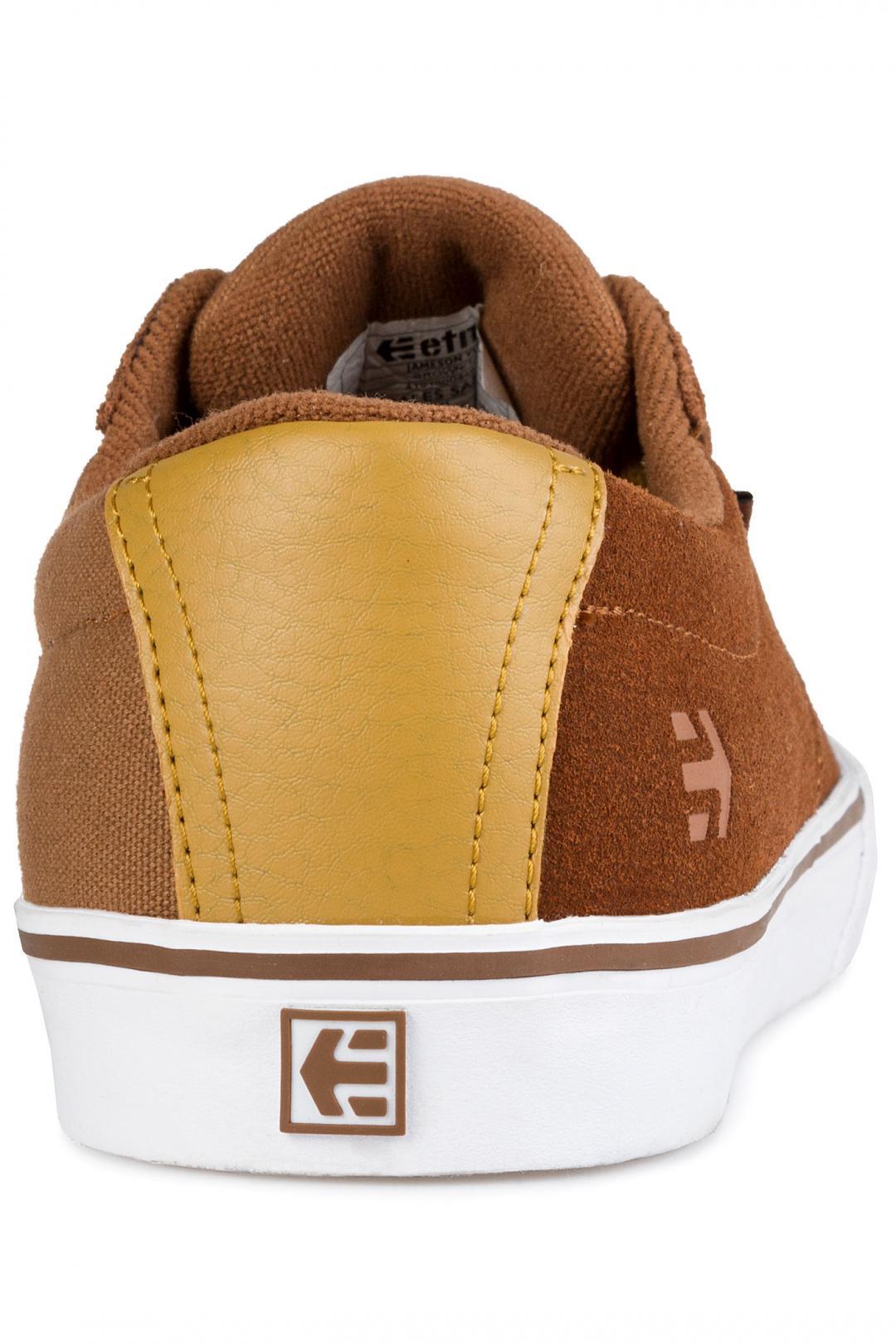 Uomo Etnies Jameson Vulc brown tan | Scarpe da skate