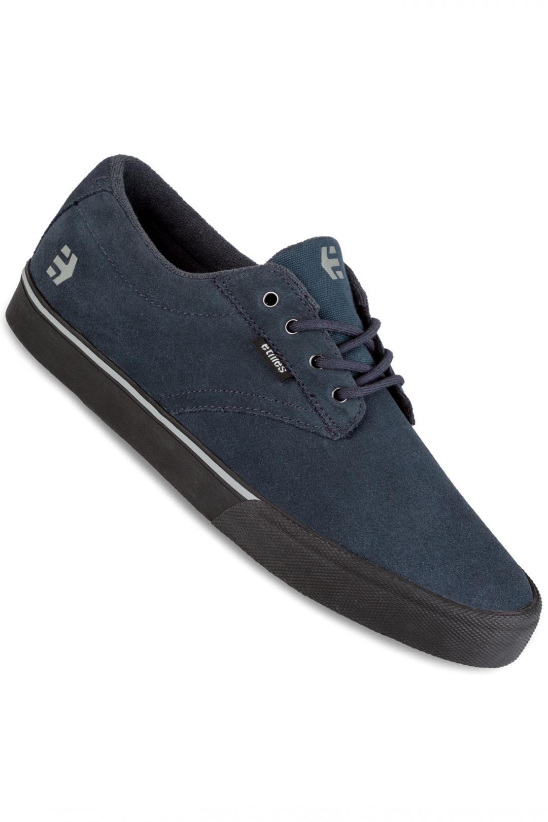 Uomo Etnies Jameson Vulc dark grey black | Sneakers low top