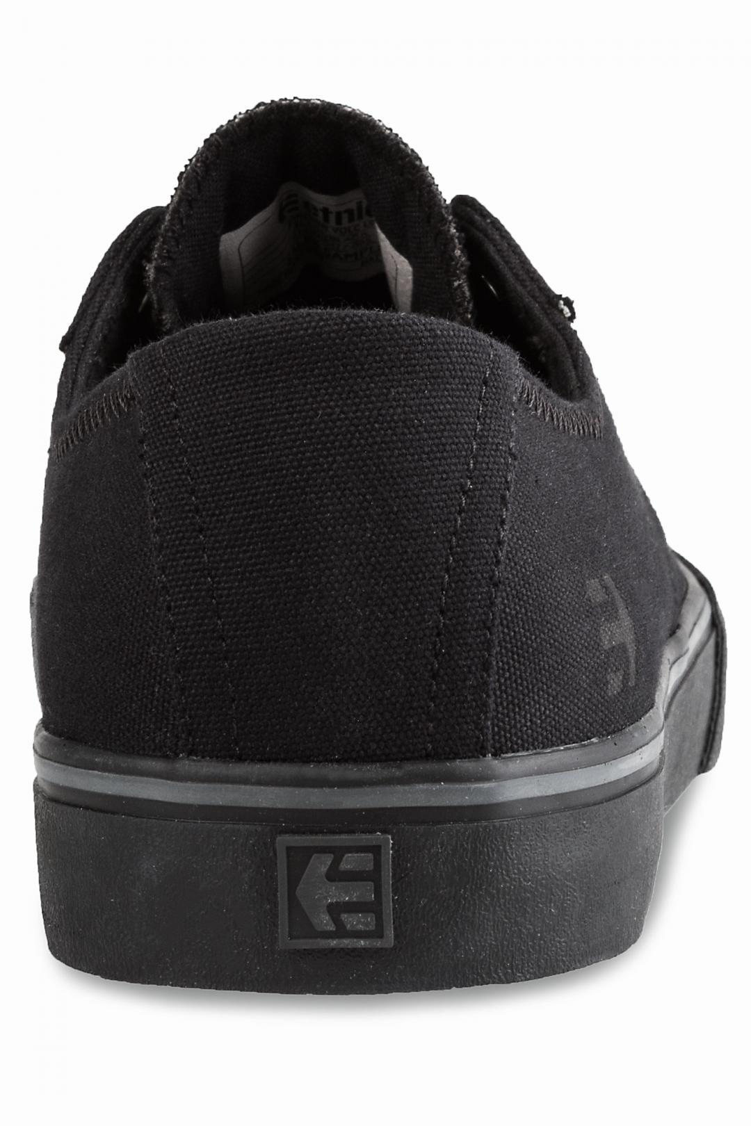 Uomo Etnies Jameson Vulc LS black black | Sneakers low top