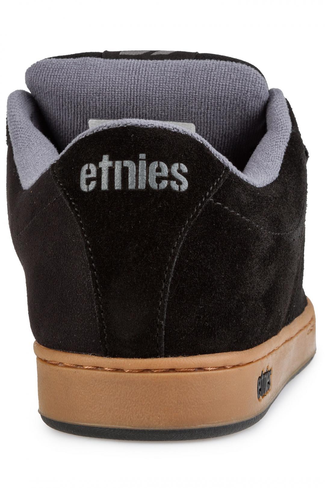 Uomo Etnies Kingpin black gum dark grey | Scarpe da skate