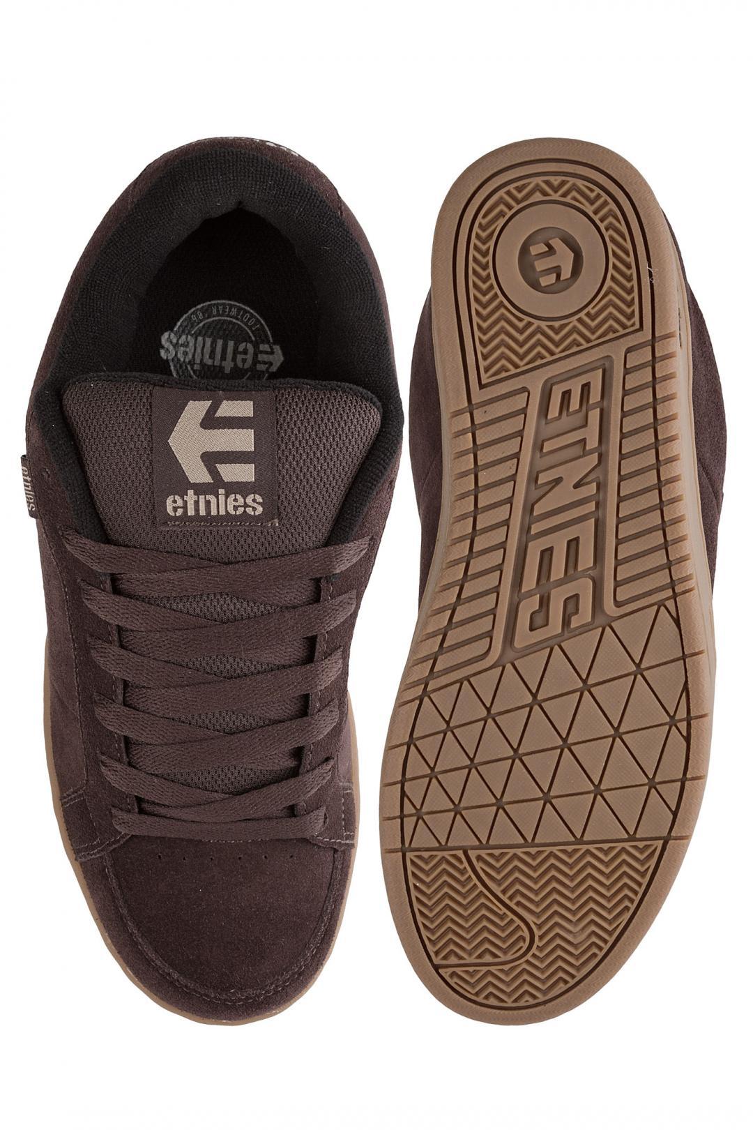 Uomo Etnies Kingpin brown black gum | Sneaker