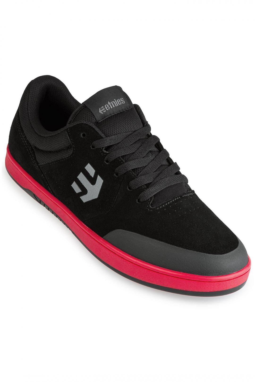 Uomo Etnies Marana black red black   Sneaker