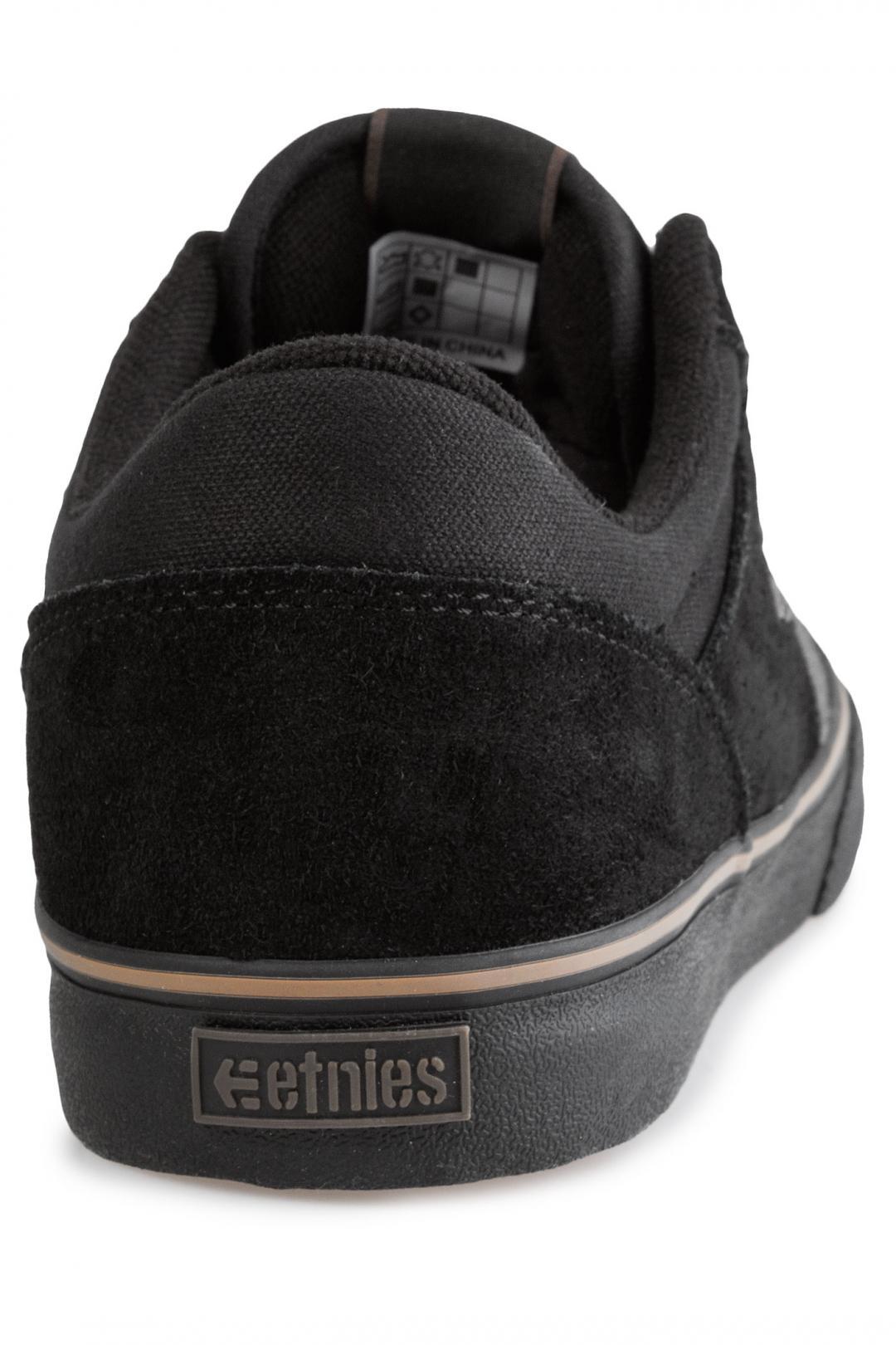 Uomo Etnies Marana Vulc black dark grey gum   Scarpe da skate
