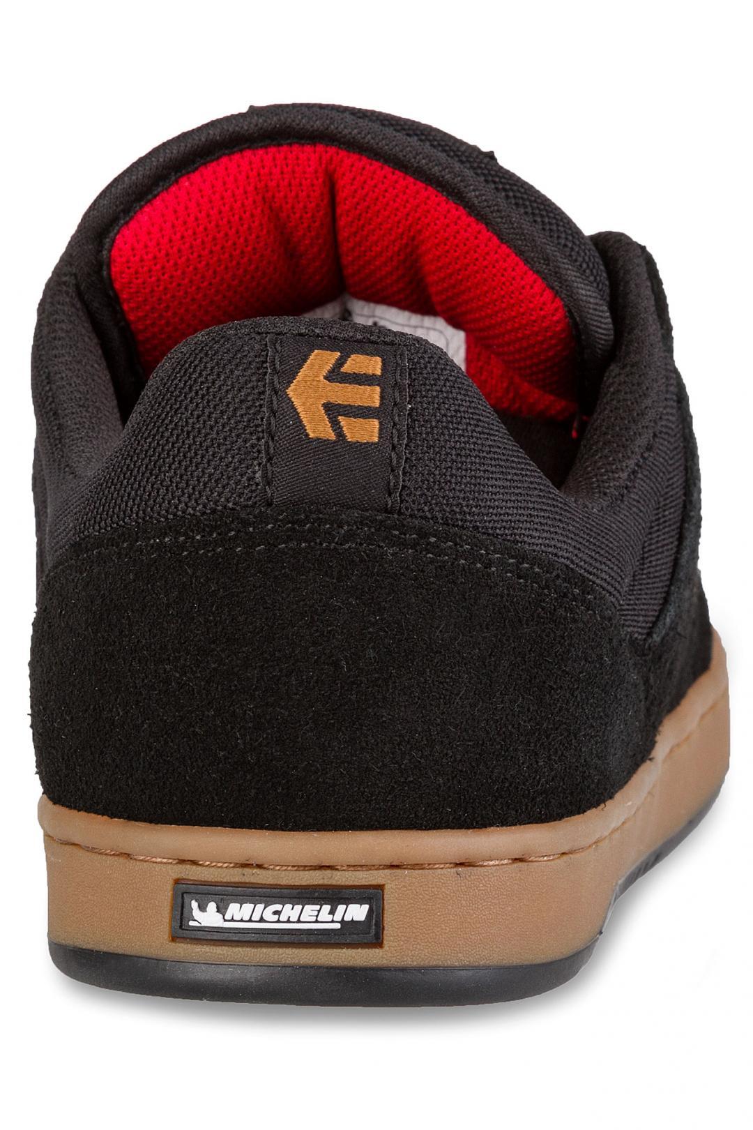Uomo Etnies Marana x Michelin black red gum | Sneakers low top