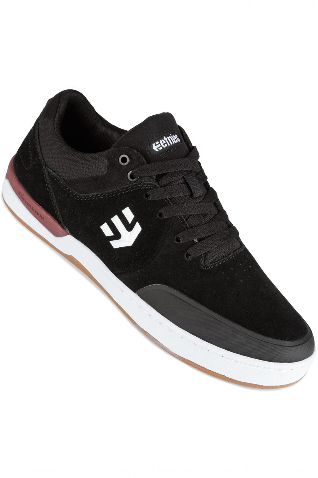 Uomo Etnies Marana XT black white burgundy | Sneakers low top