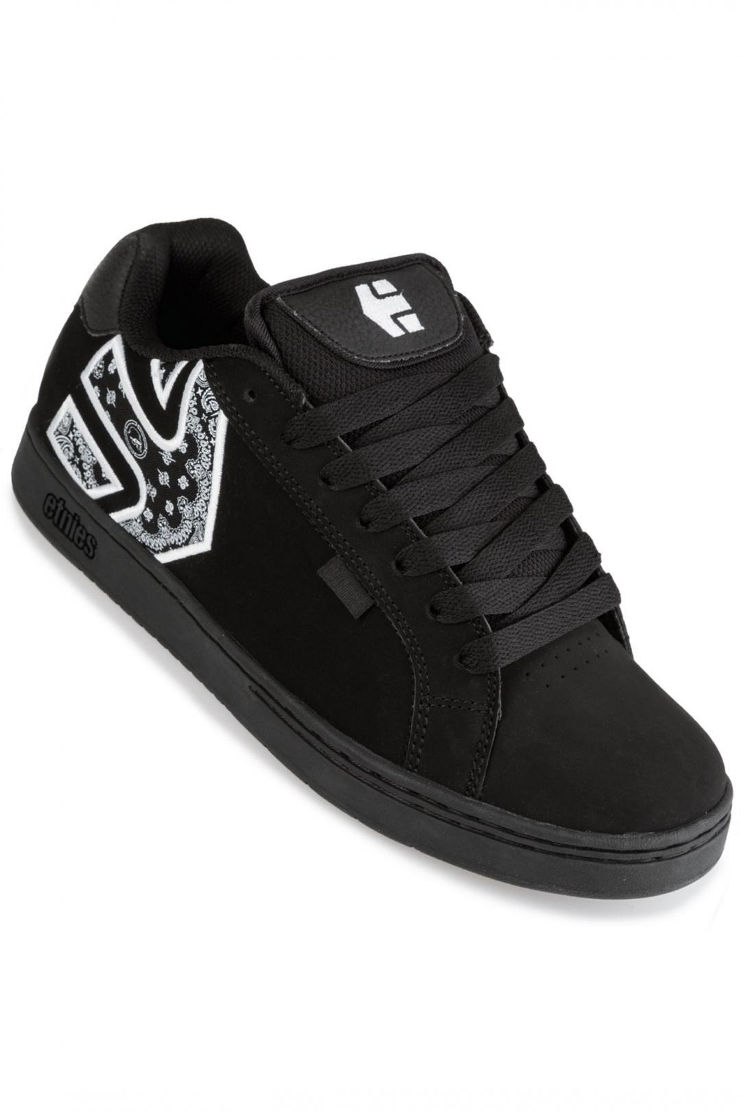 Uomo Etnies Metal Mulisha Fader black white black | Sneakers low top