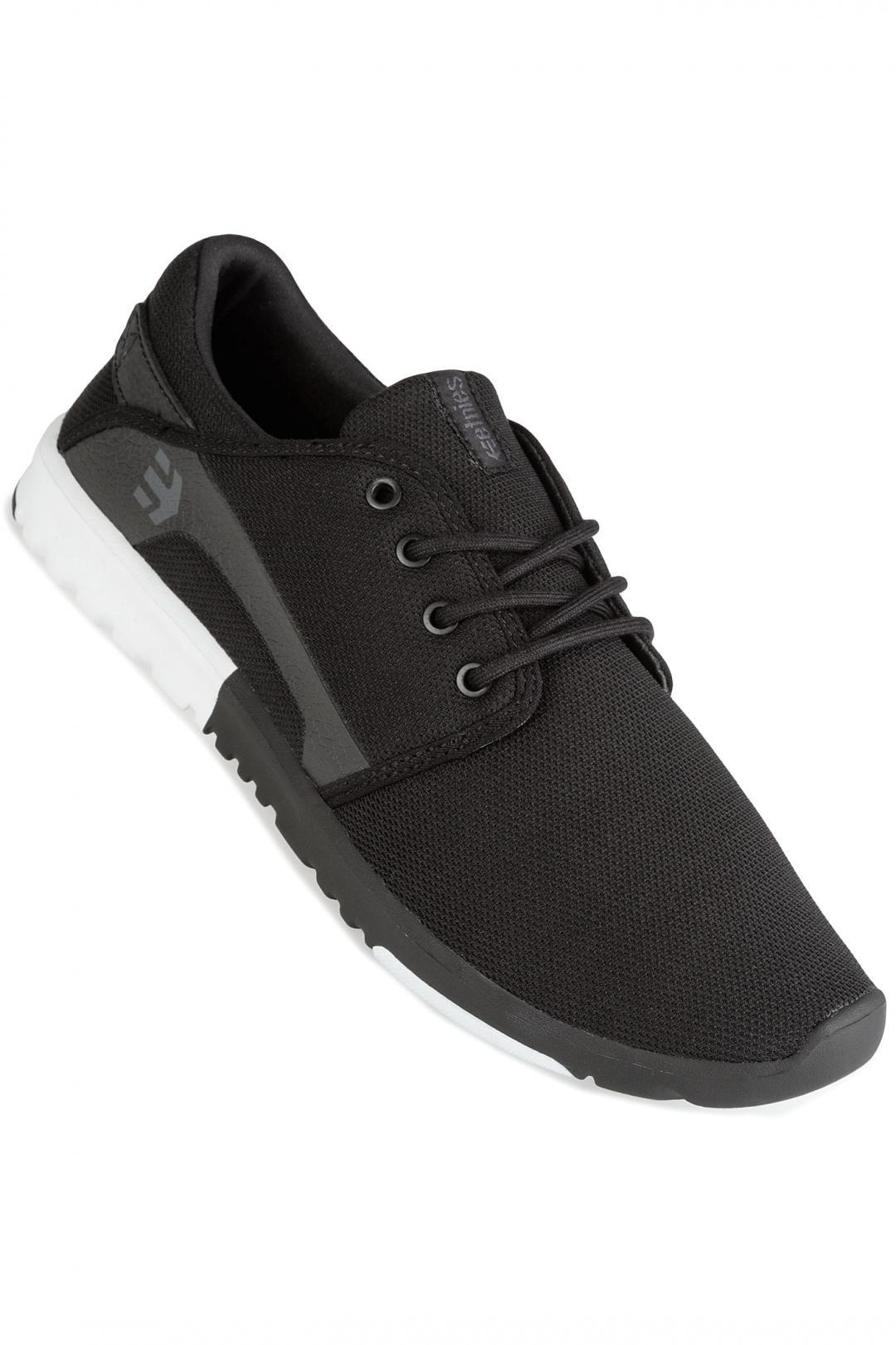 Uomo Etnies Scout black white white | Sneakers low top