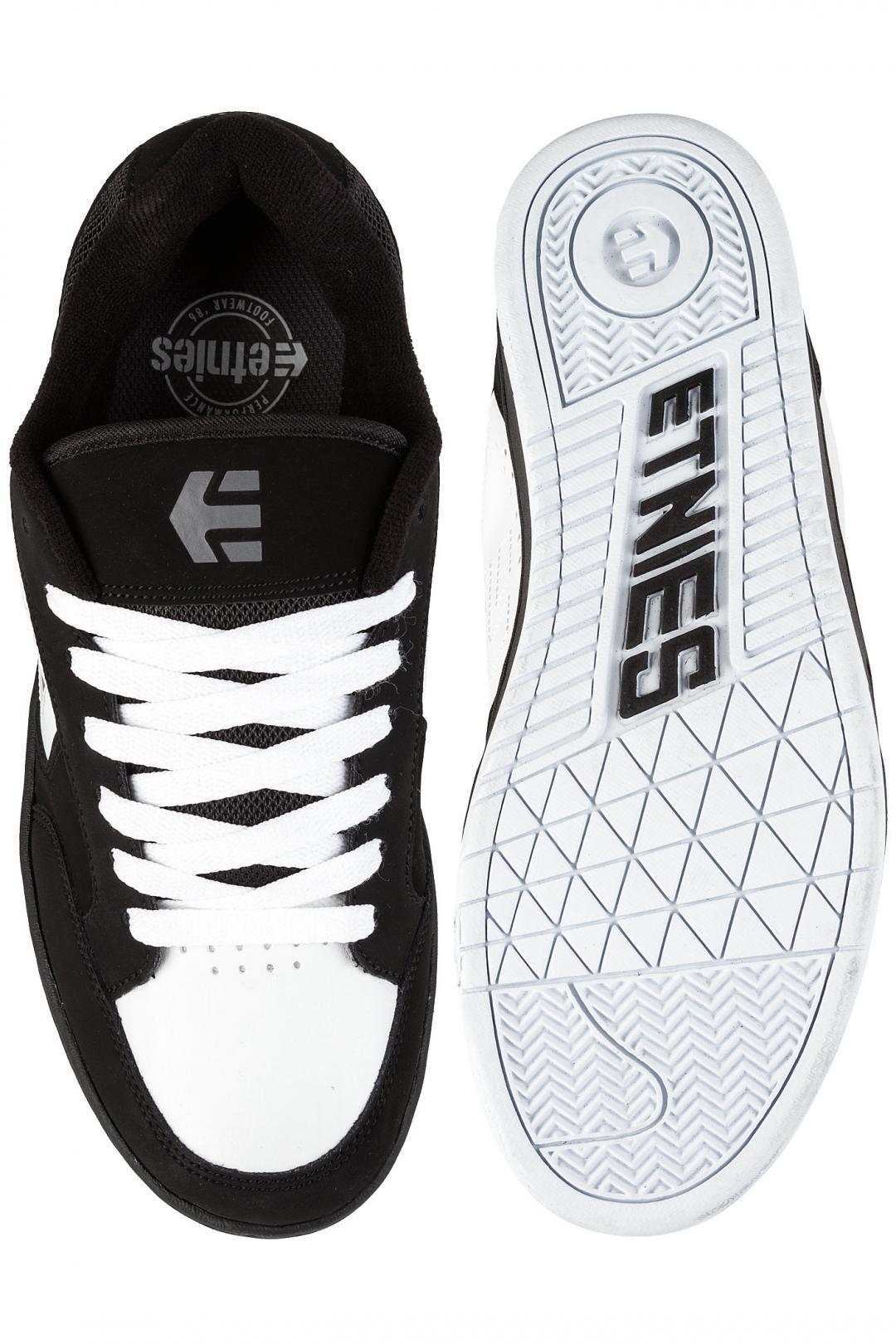 Uomo Etnies Swivel black white grey | Scarpe da skate