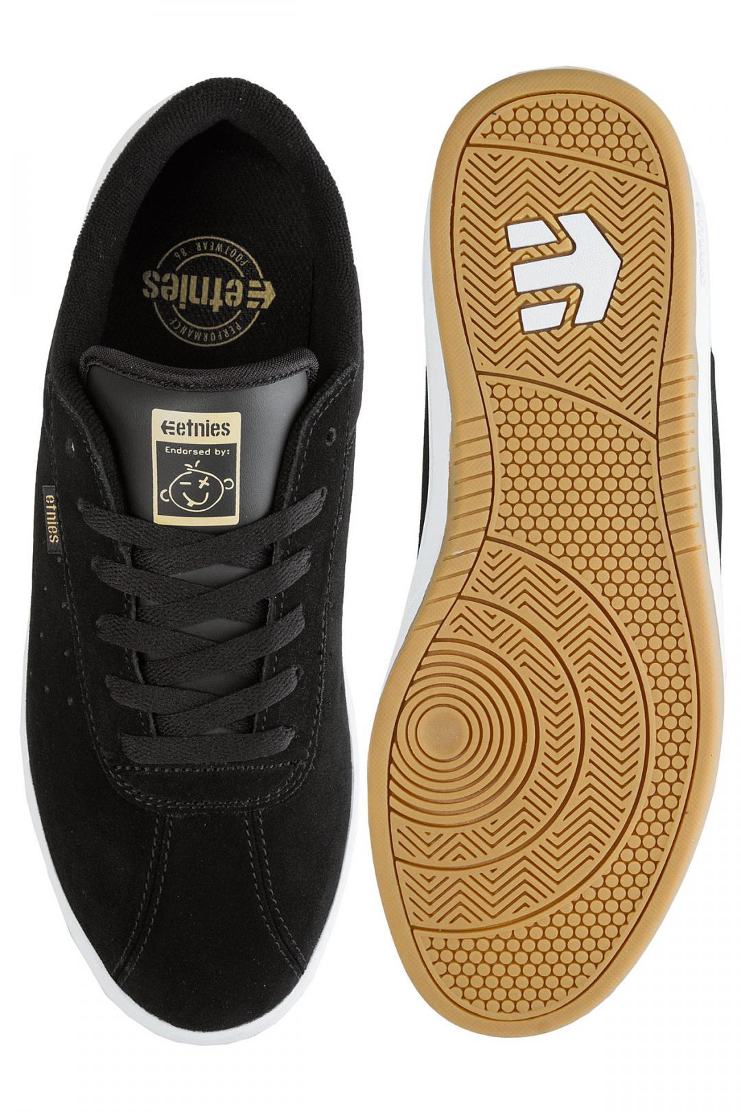 Uomo Etnies The Scam black white gum   Sneaker
