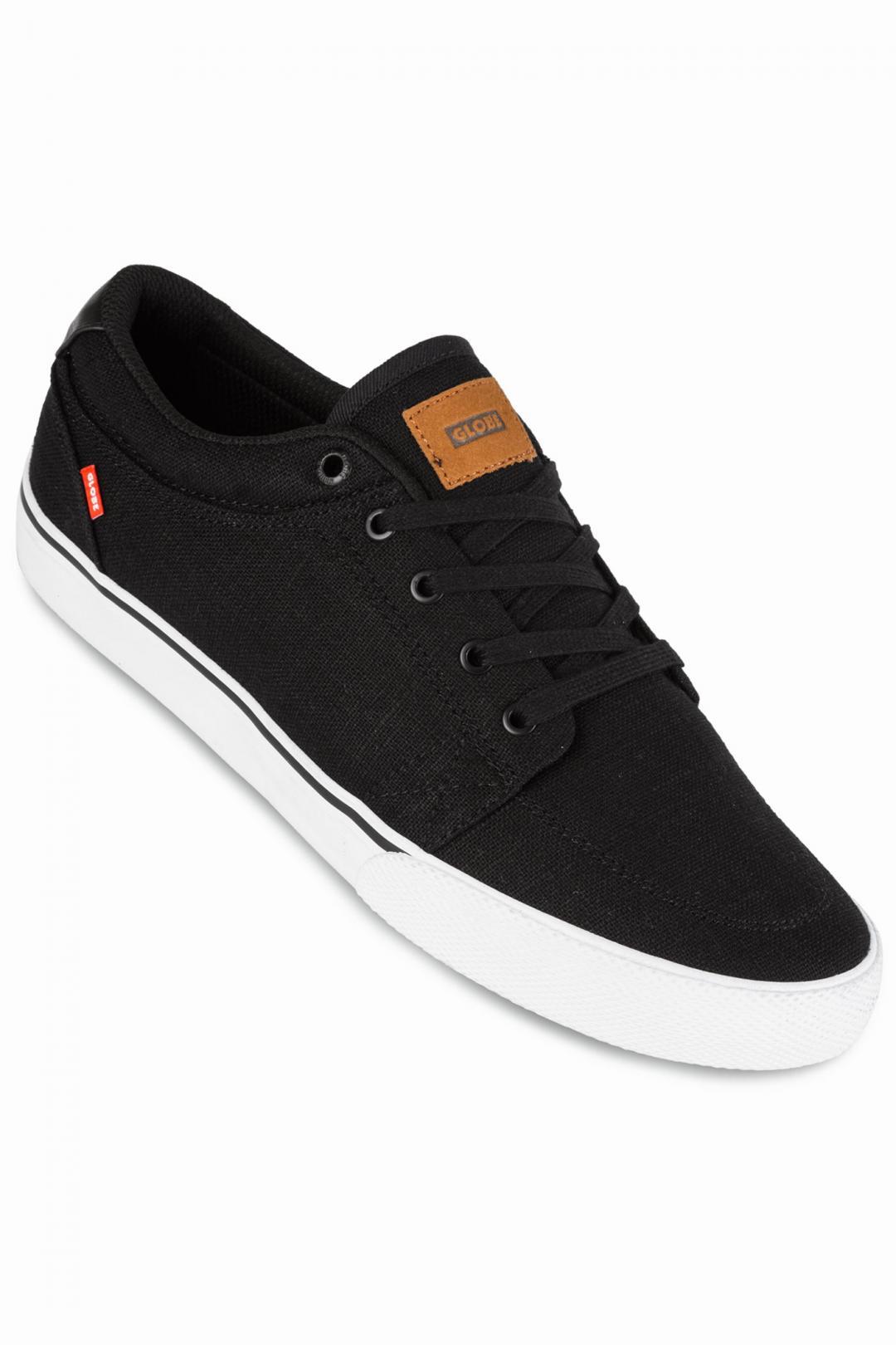 Uomo Globe GS Canvas black hemp | Sneakers low top