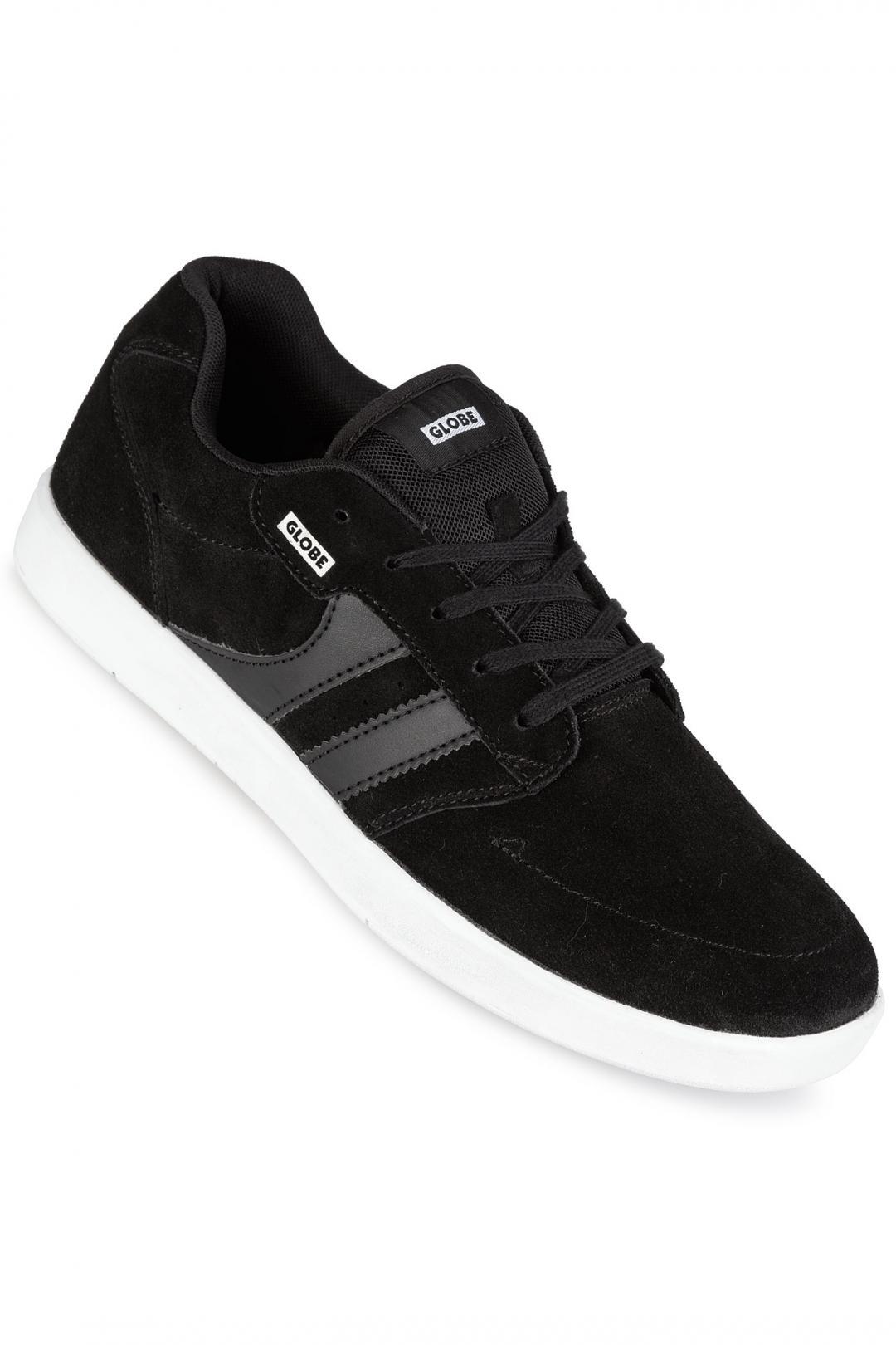 Uomo Globe Octave black white | Sneakers low top