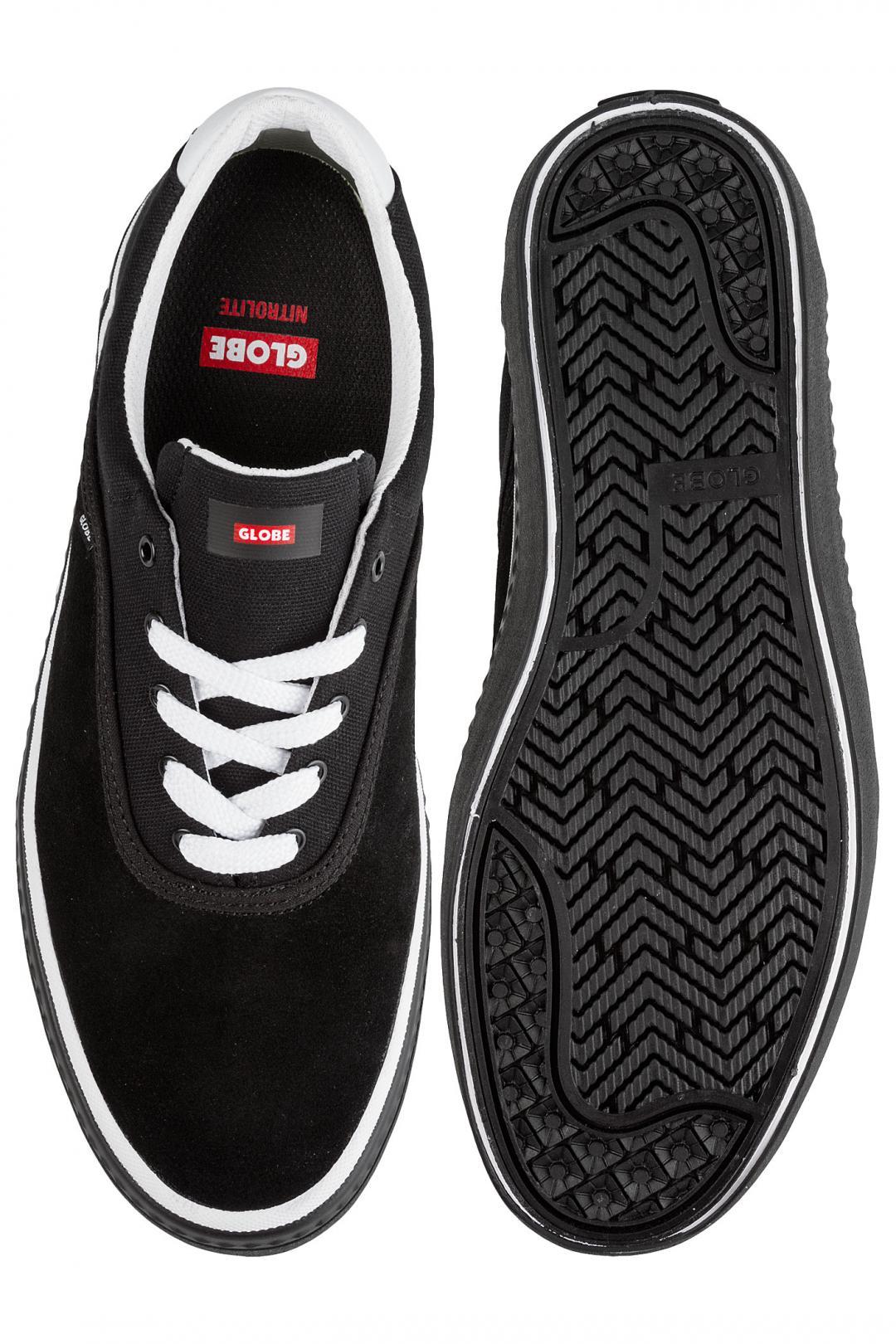 Uomo Globe Sprout black core noa   Sneakers low top