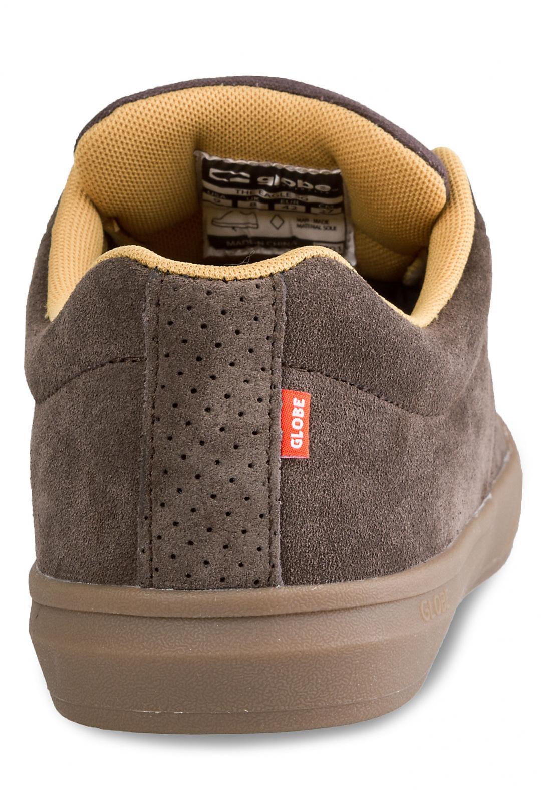 Uomo Globe The Eagle SG chestnut gum mustard | Sneaker