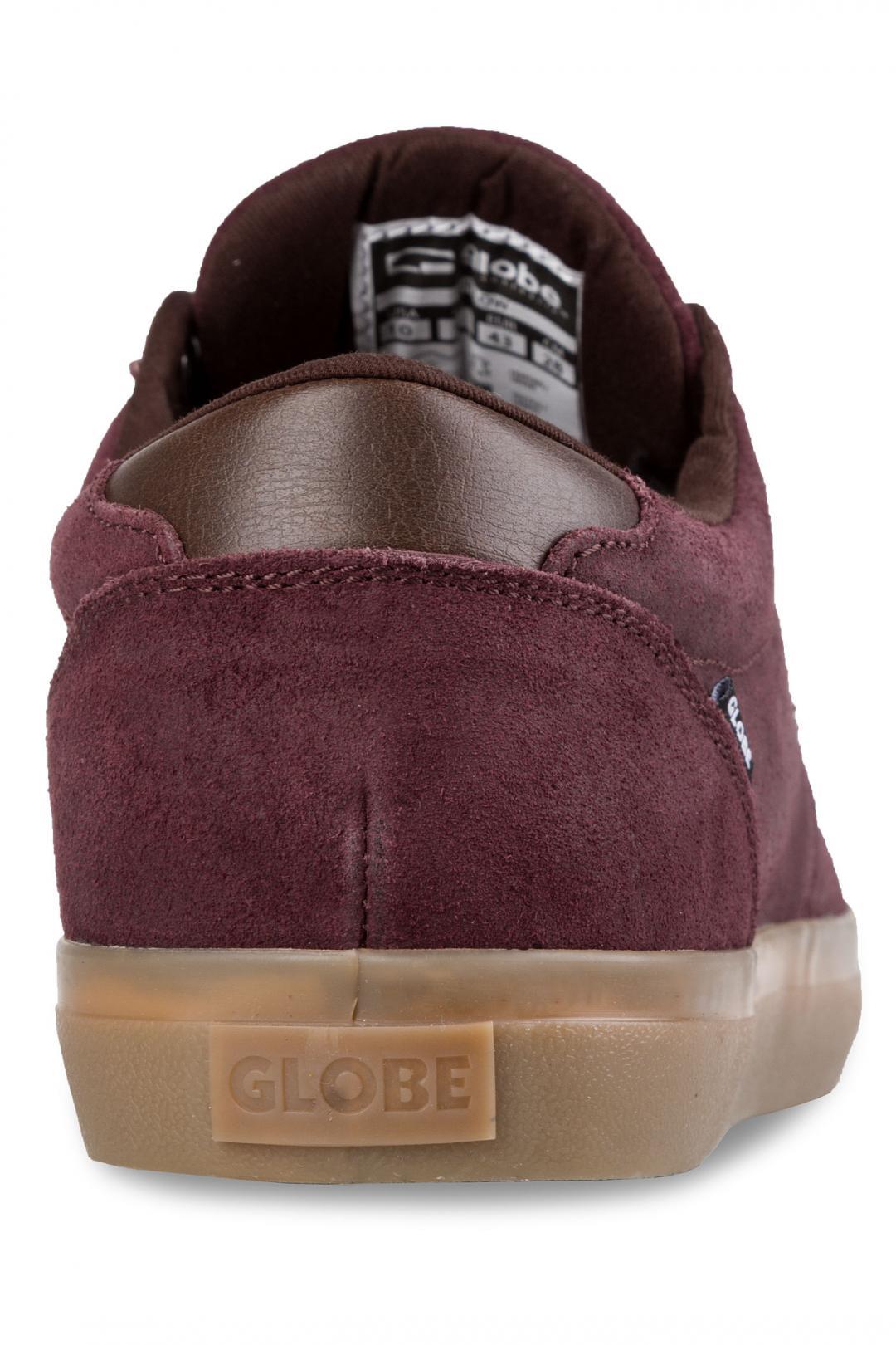 Uomo Globe Willow rum raisin gum | Sneaker