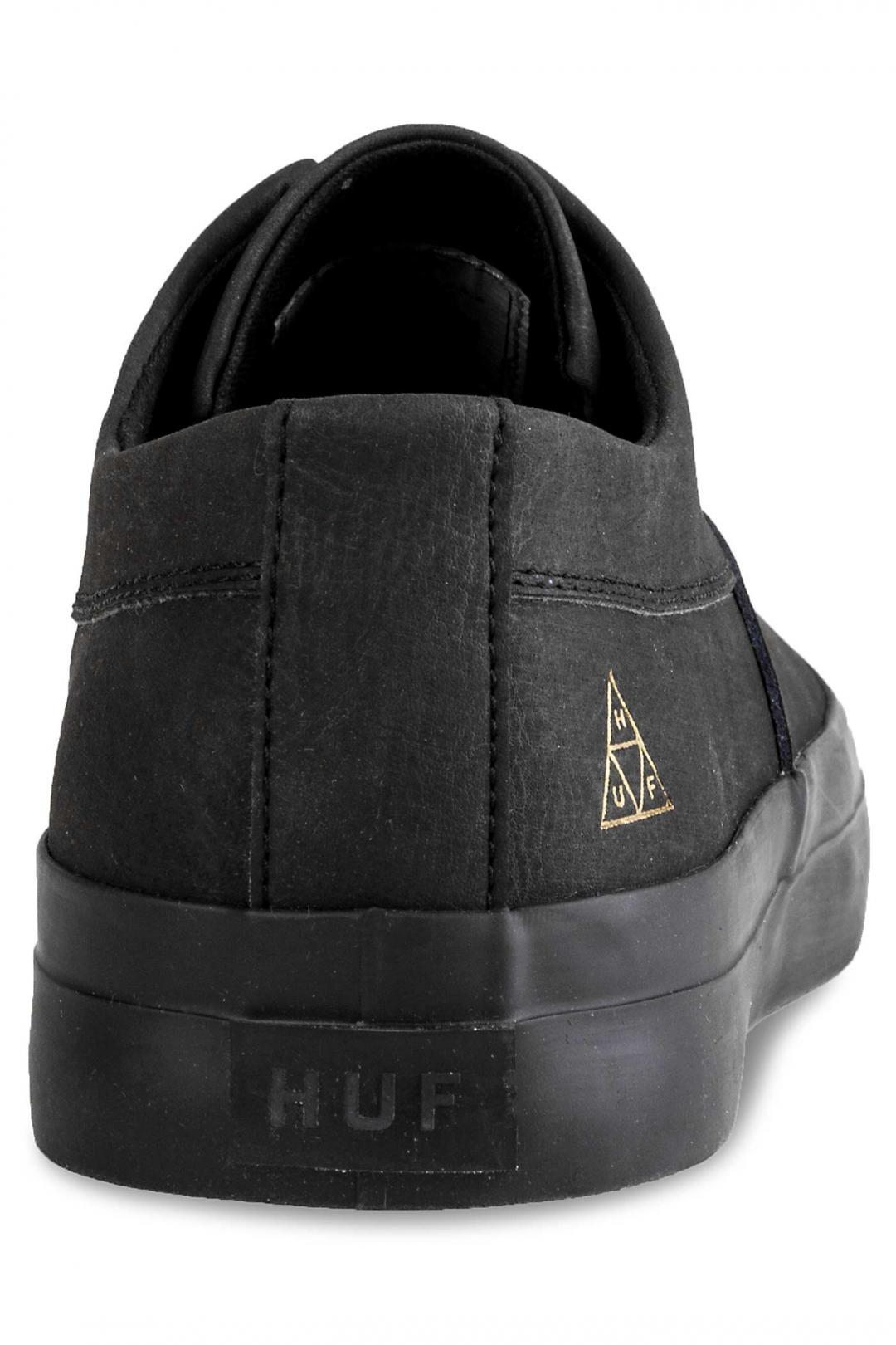 Uomo HUF Dylan Slip On black black | Sneaker