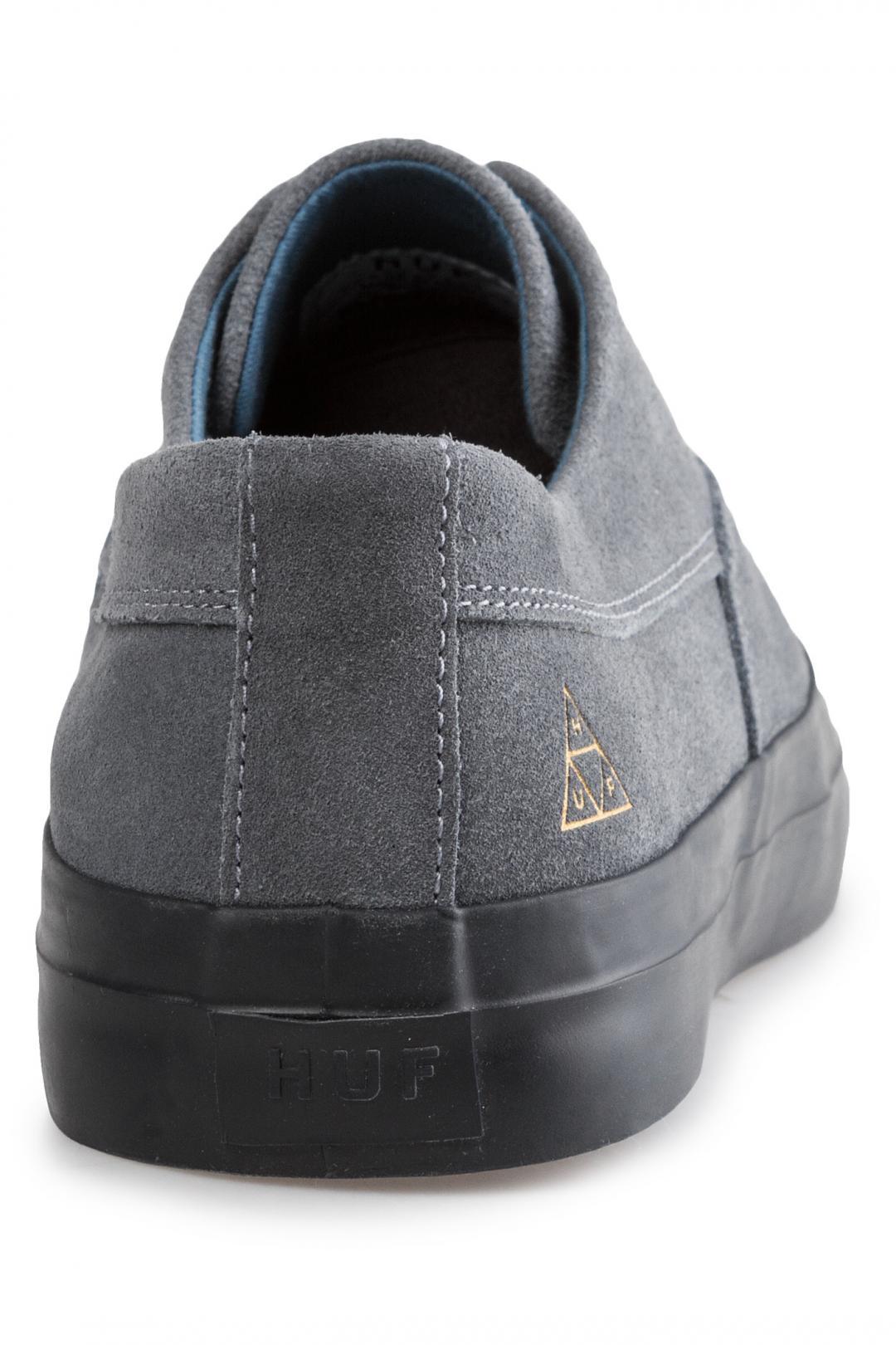 Uomo HUF Dylan Slip On blue stone   Sneaker