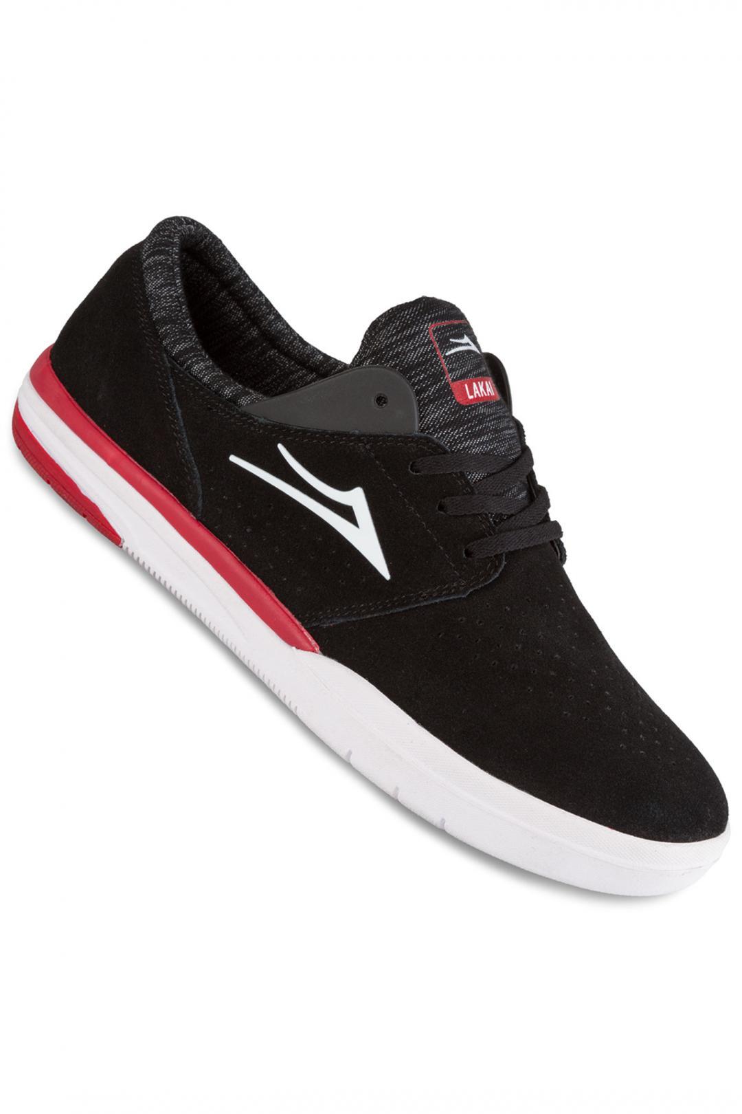 Uomo Lakai Fremont Suede black   Sneaker