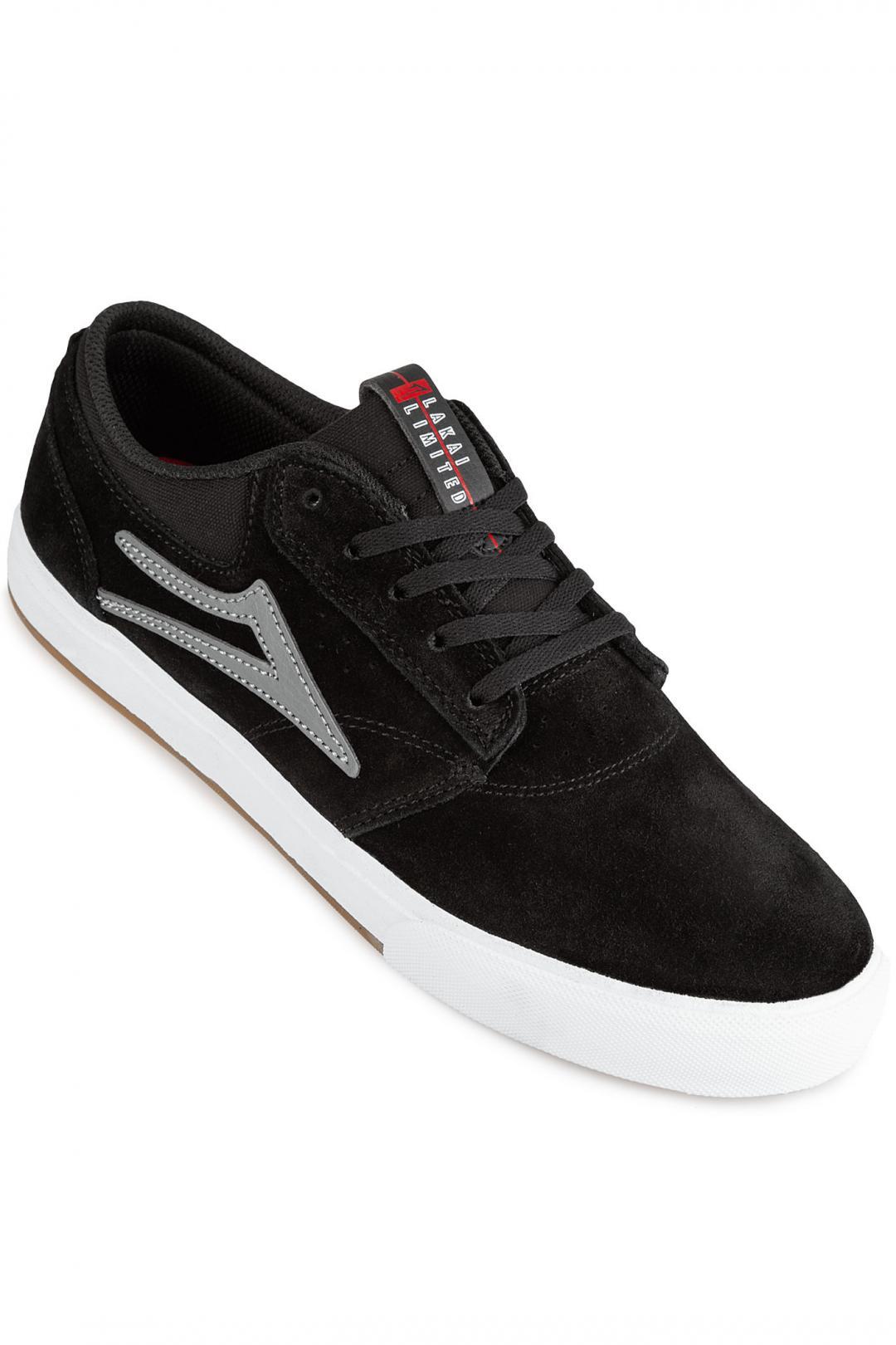 Uomo Lakai Griffin Suede black grey 2 | Sneakers low top
