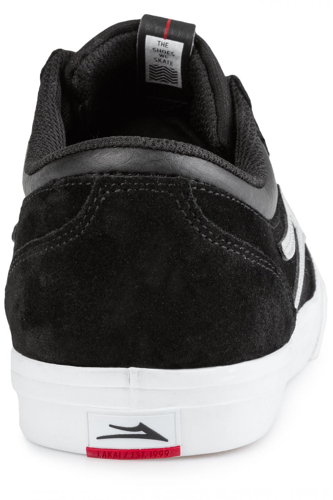 Uomo Lakai Griffin Suede black reflective | Scarpe da skate